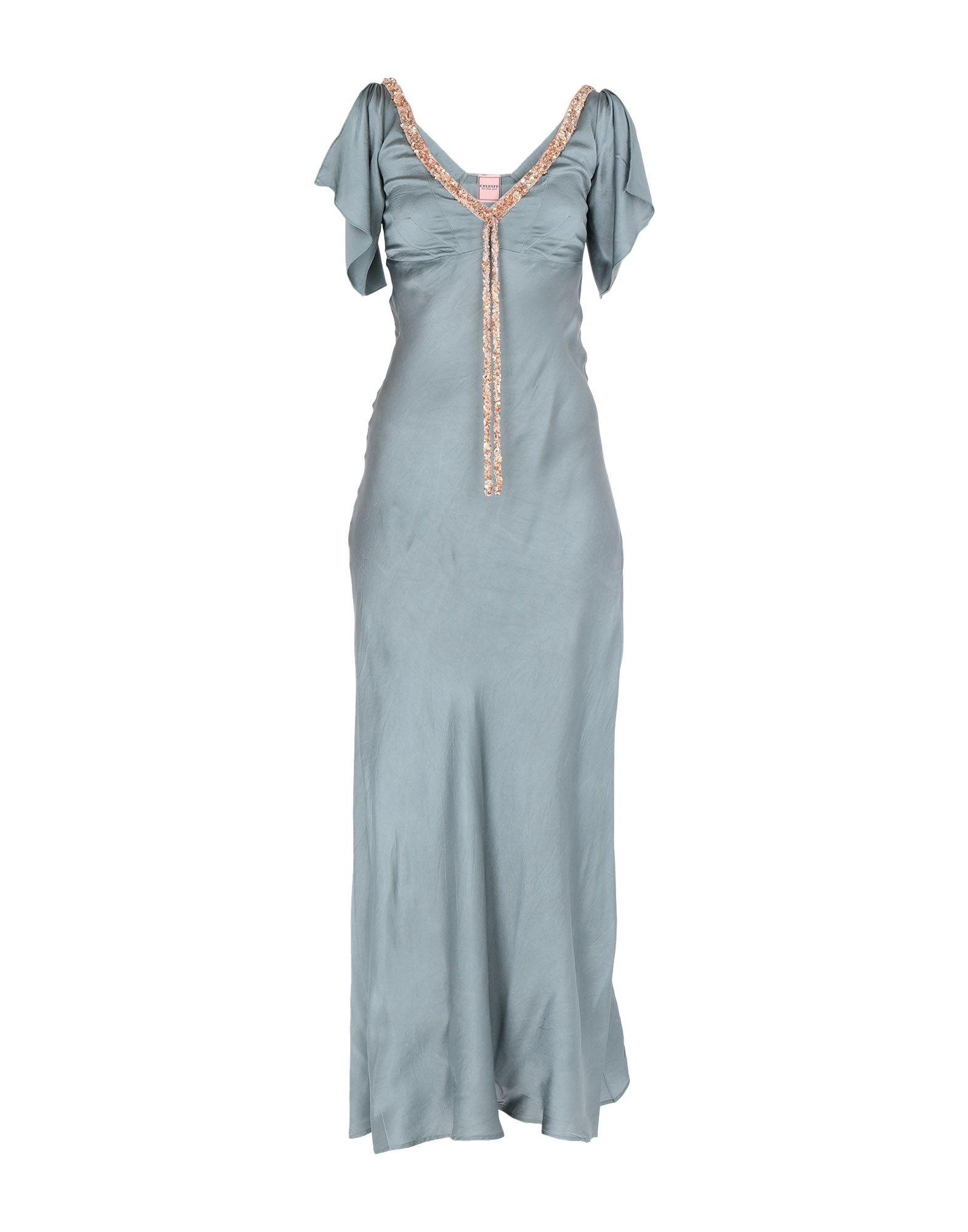 CELESTE ALL THAT Длинное платье недорго, оригинальная цена