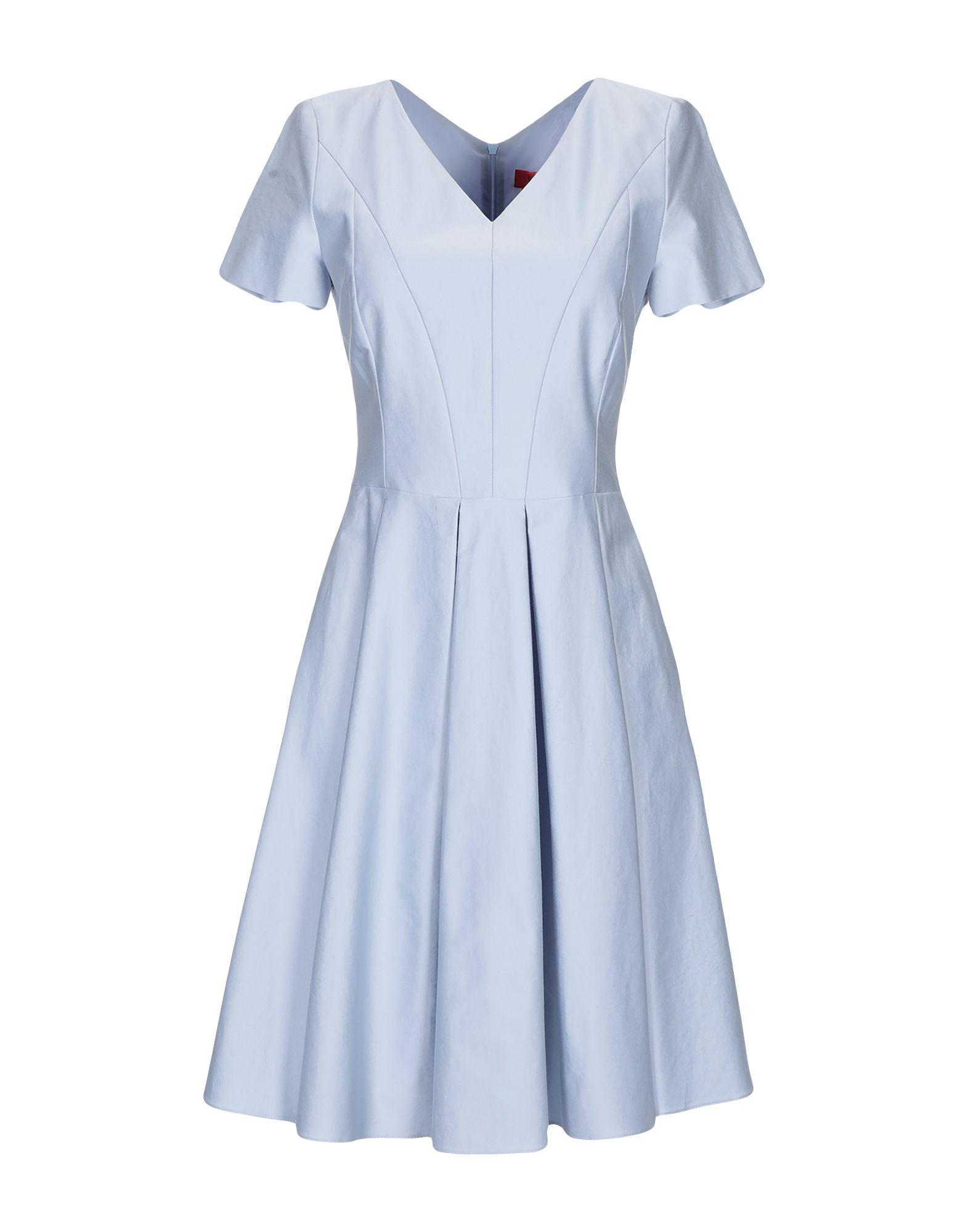 HUGO HUGO BOSS Короткое платье платье hugo hugo boss hugo hugo boss hu286ewddep6
