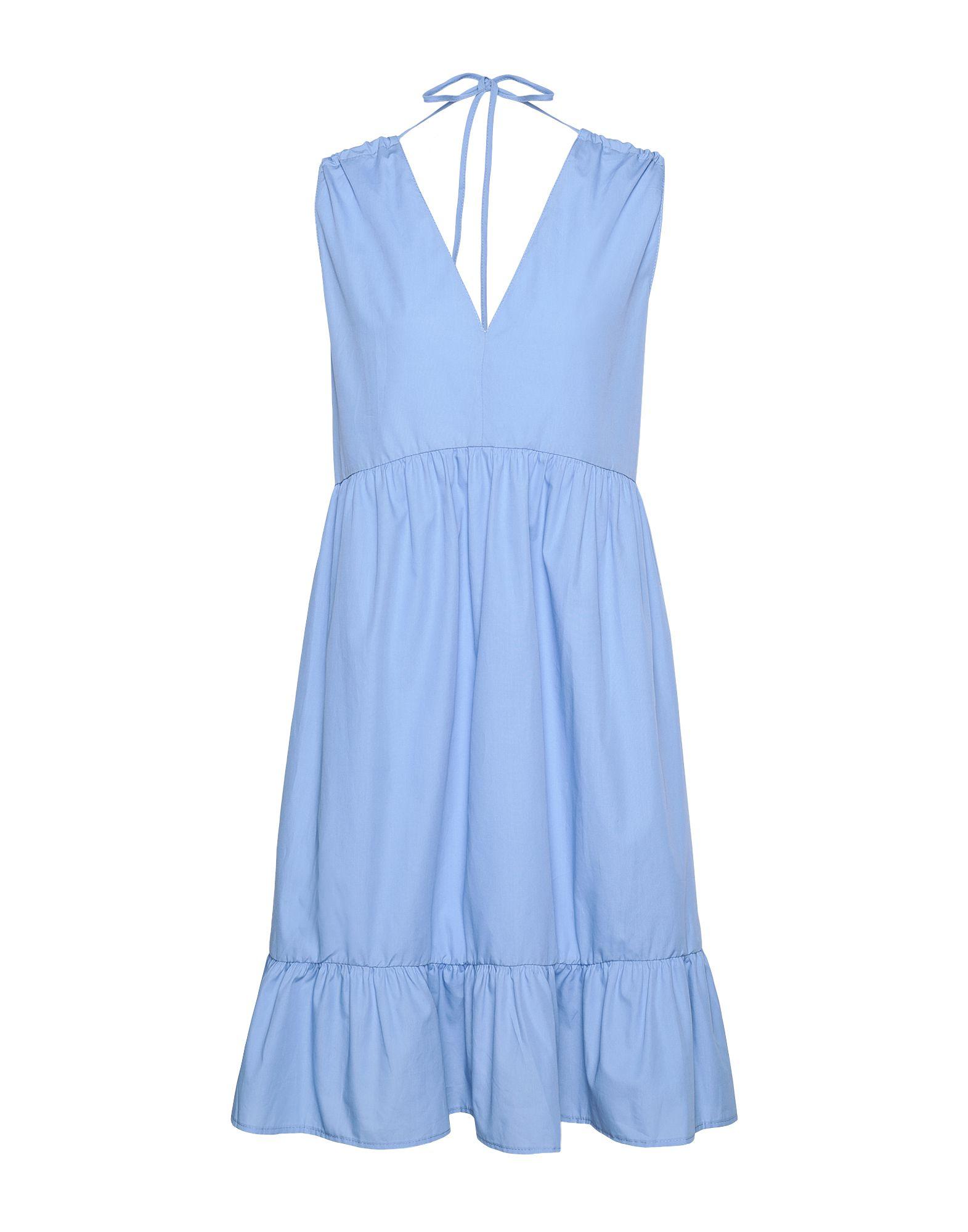 цена 8 by YOOX Платье до колена онлайн в 2017 году