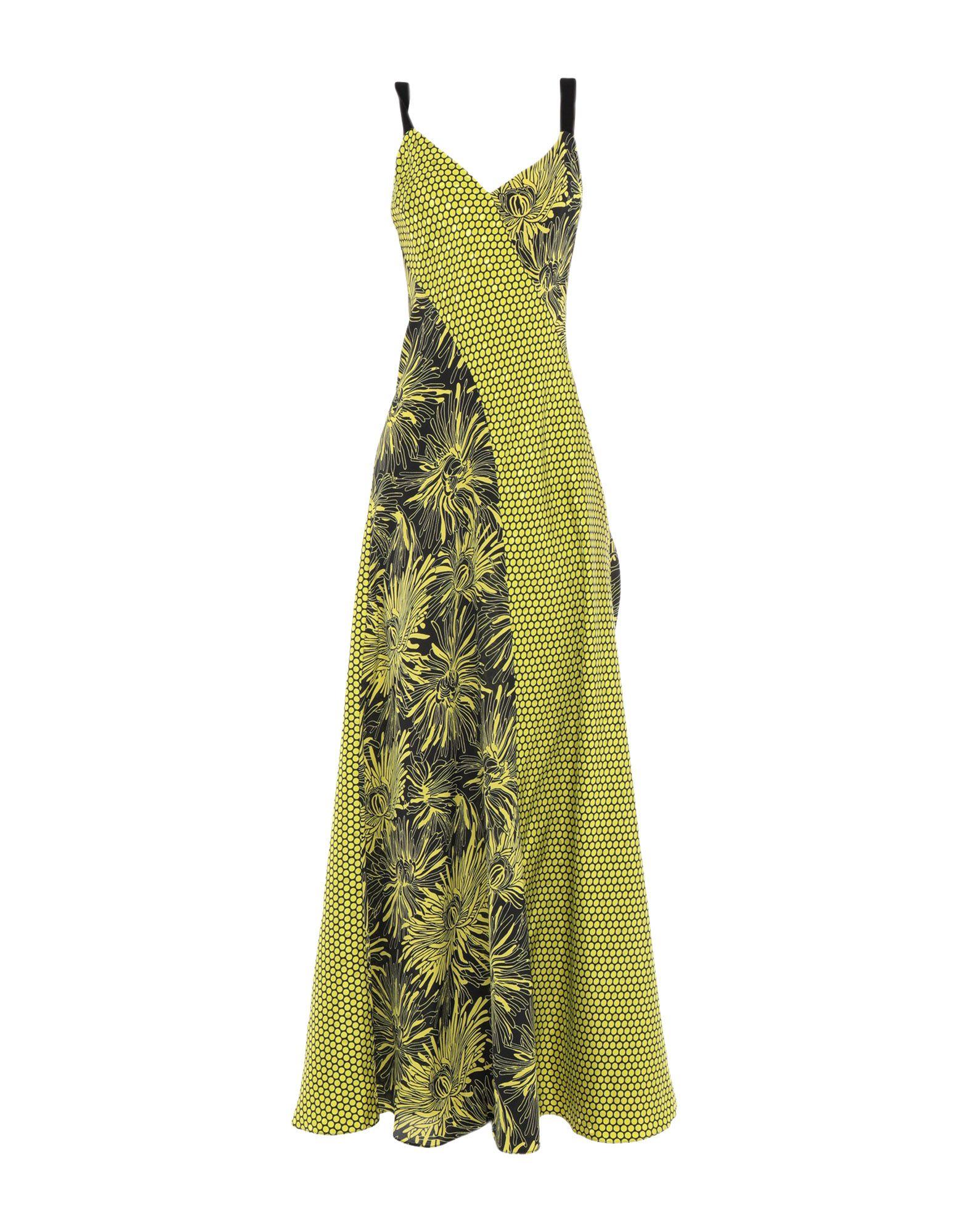 DIANE VON FURSTENBERG Длинное платье 120% длинное платье
