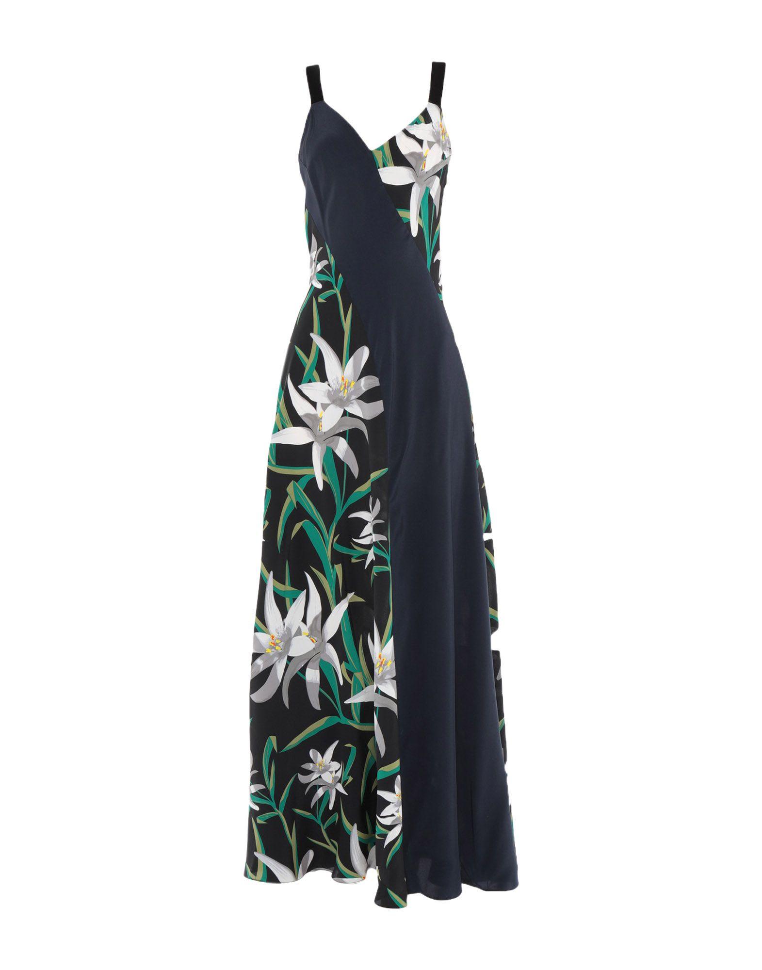 DIANE VON FURSTENBERG Длинное платье oz10 длинное платье