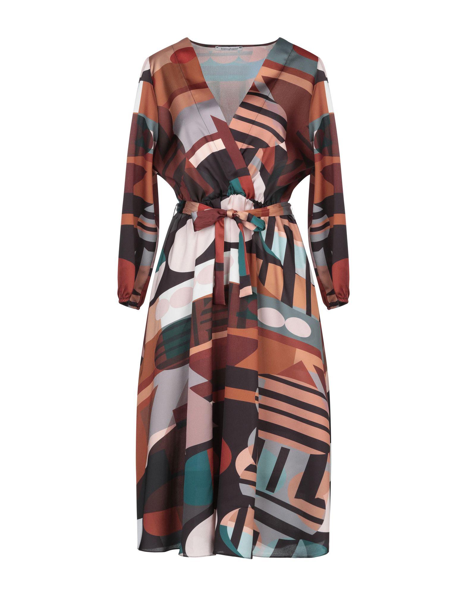 купить BIANCOGHIACCIO Платье до колена онлайн
