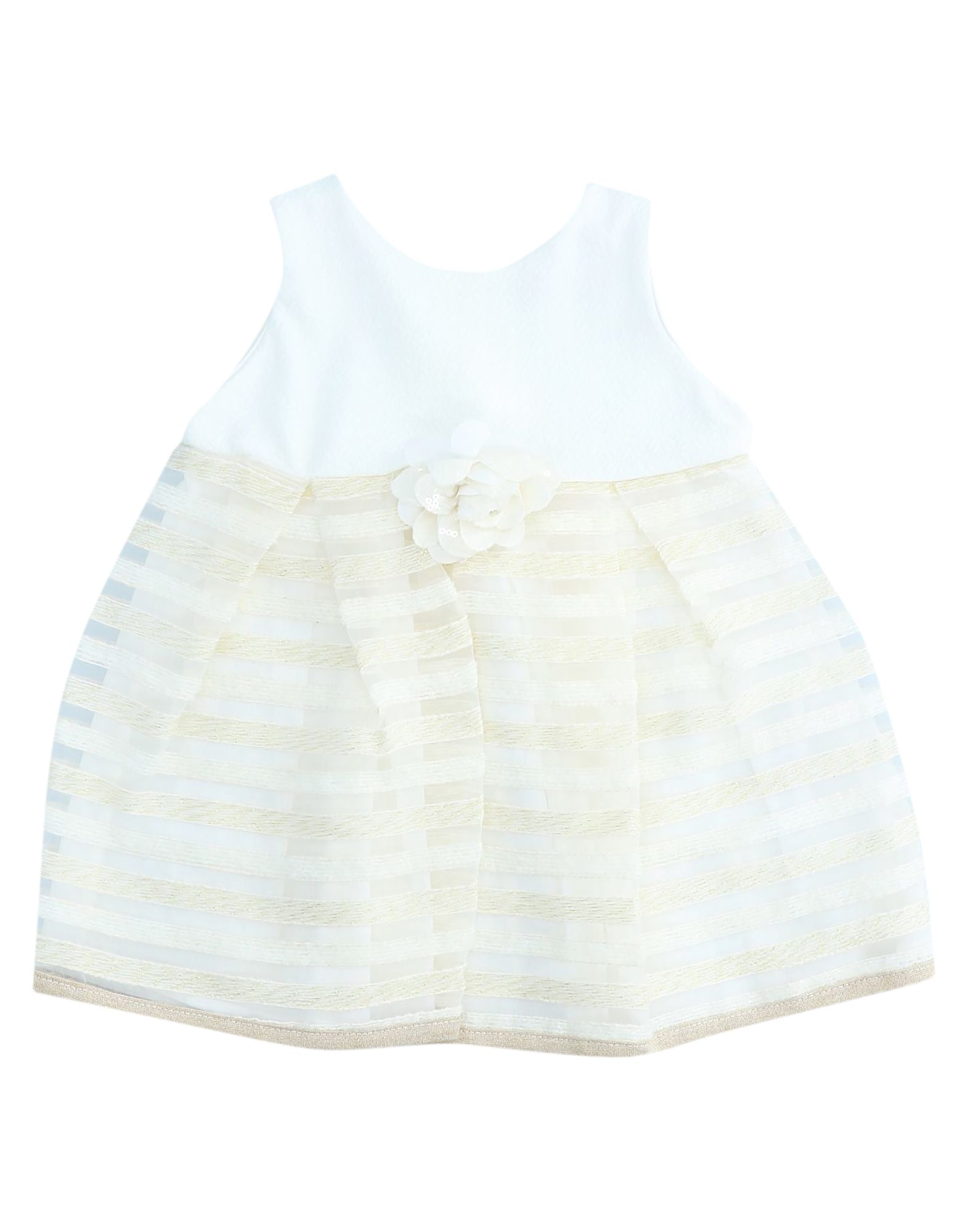 Alice Pi. Kids' Dresses In Neutrals