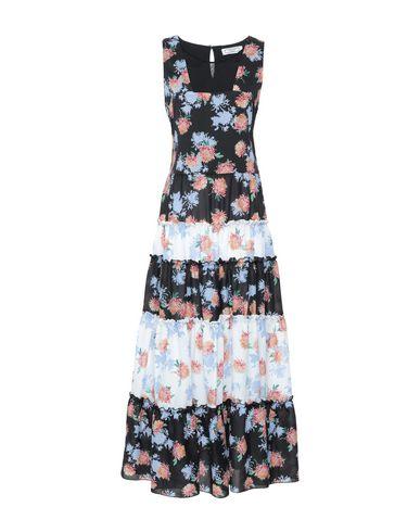 Фото - Женское длинное платье GRETHA Milano черного цвета