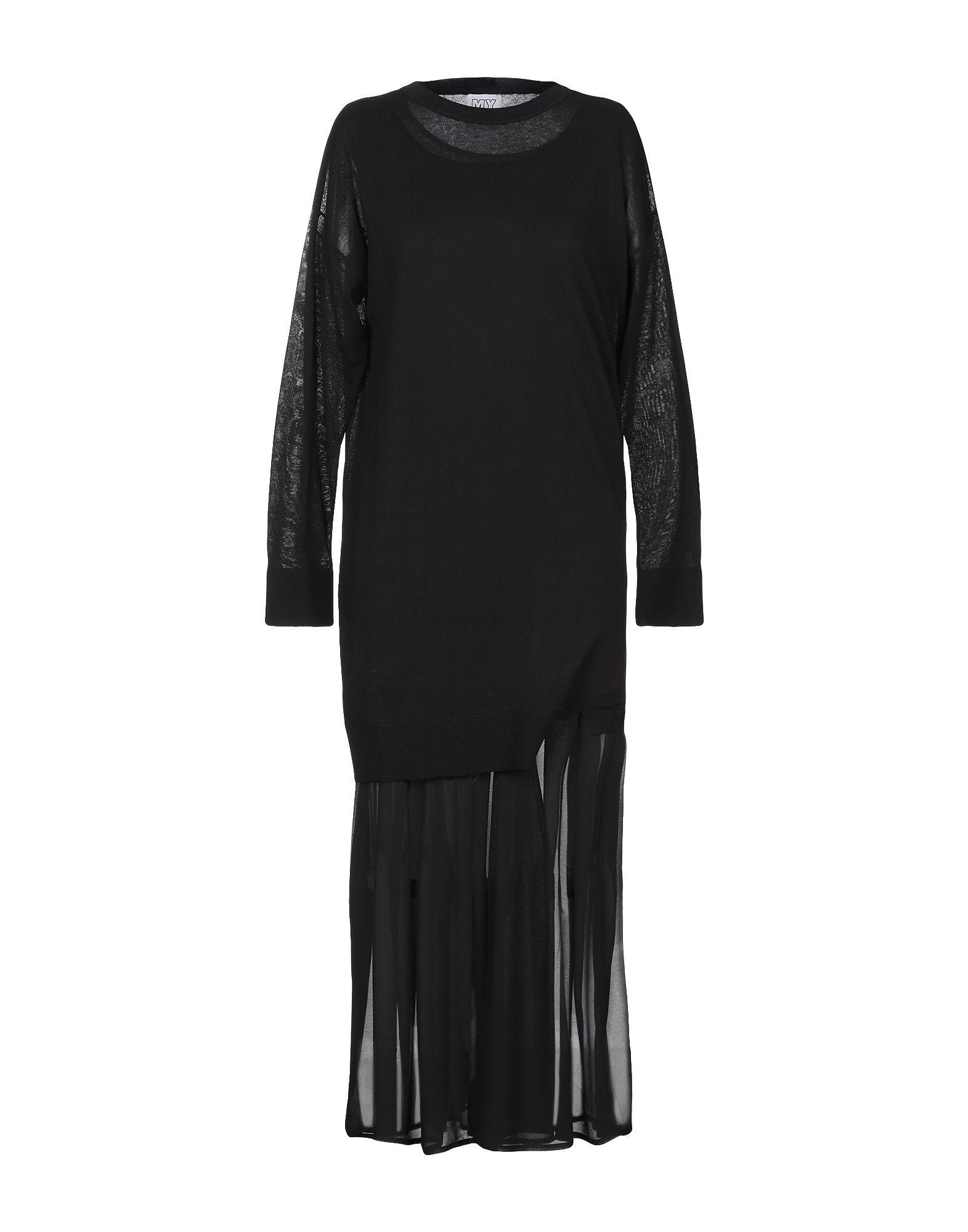 цена MY TWIN TWINSET Платье длиной 3/4 онлайн в 2017 году