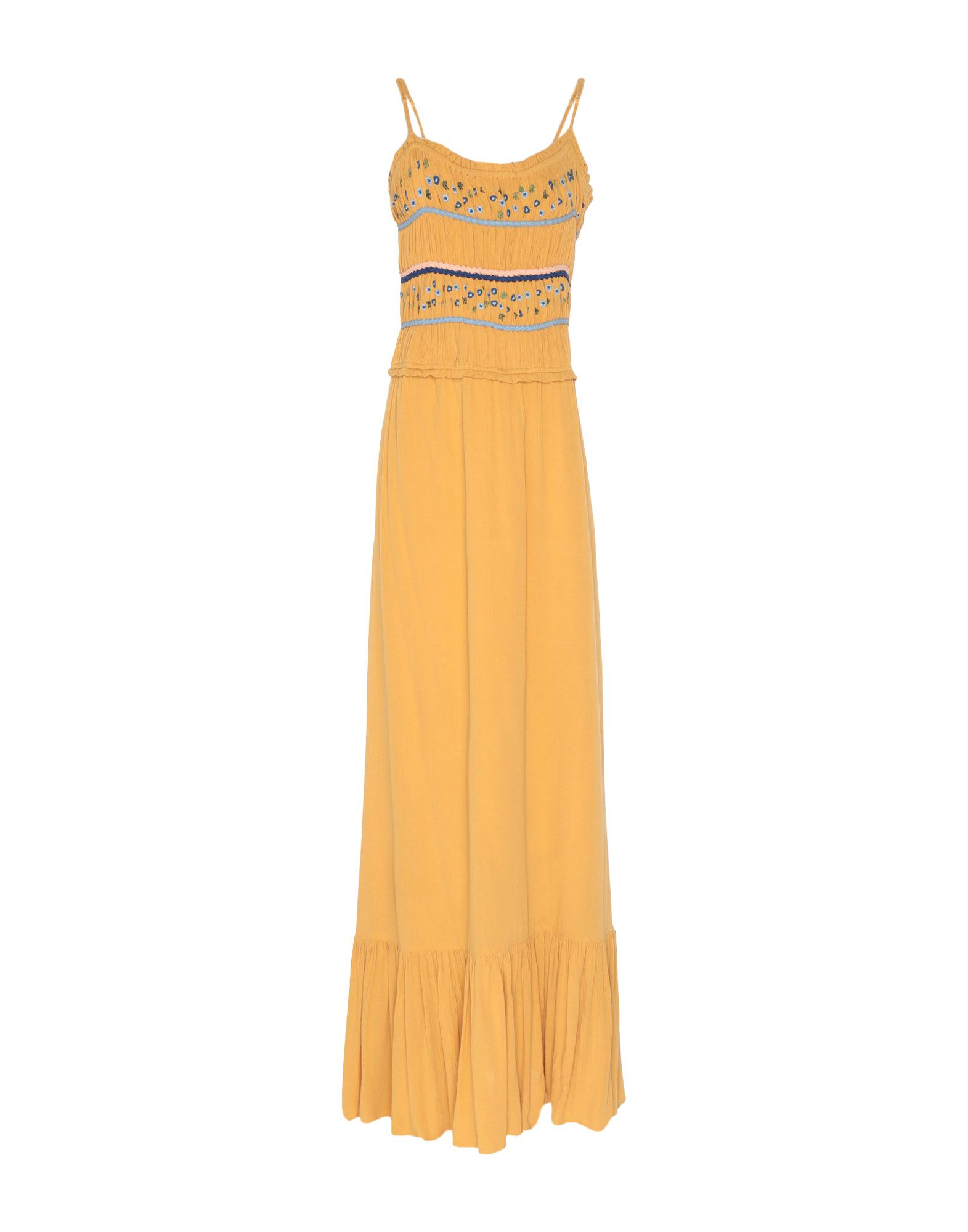 SCEE by TWINSET Длинное платье peace love by calao длинное платье