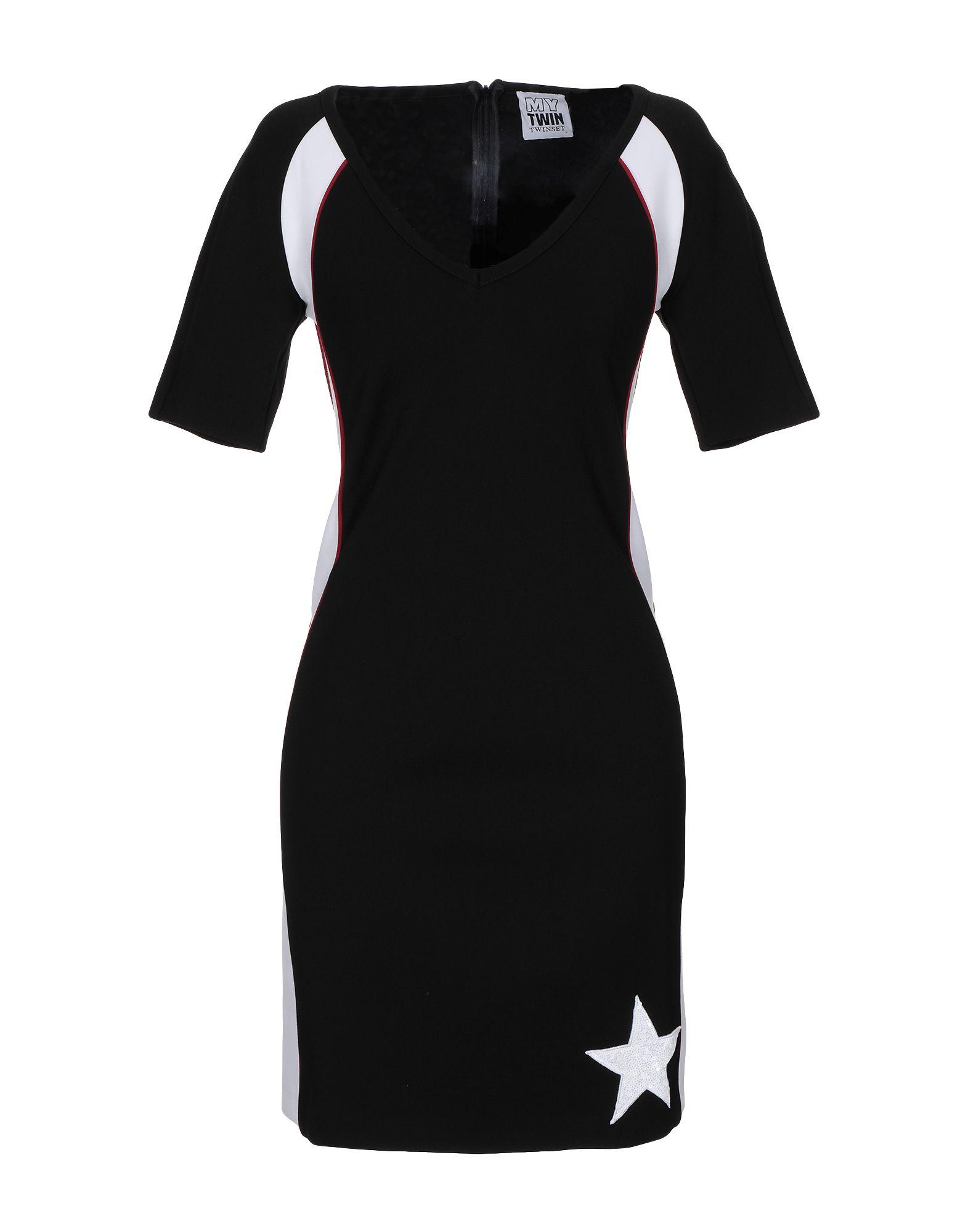 MY TWIN TWINSET Короткое платье