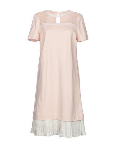Фото - Женское короткое платье TWINSET светло-розового цвета