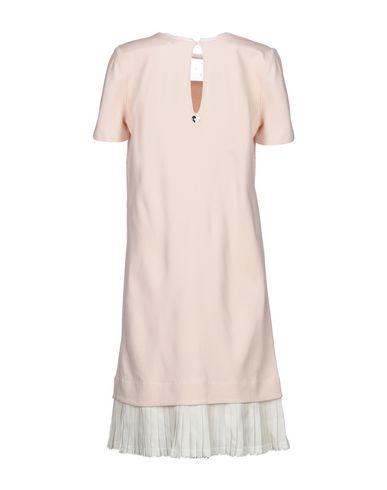 Фото 2 - Женское короткое платье TWINSET светло-розового цвета