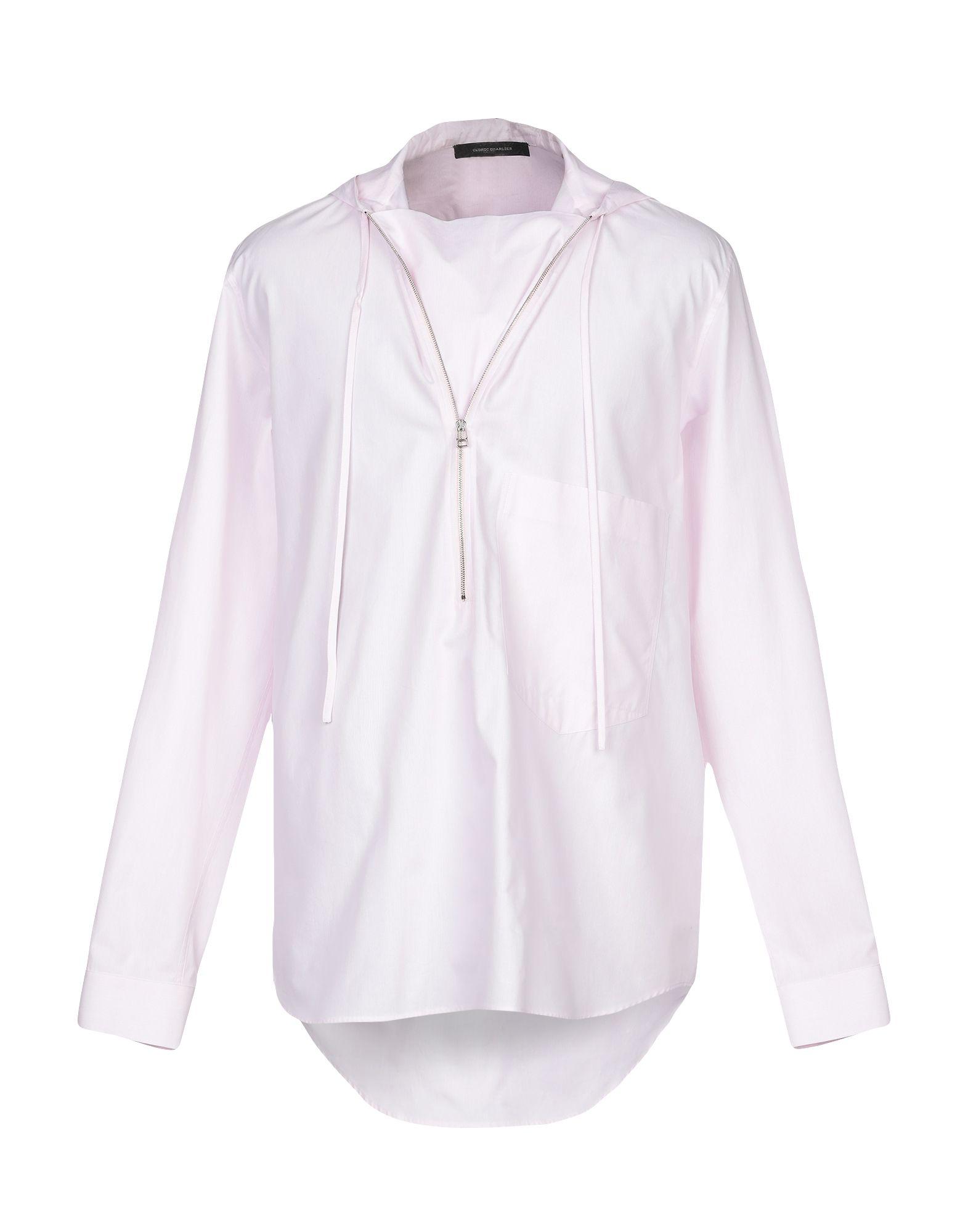 CEDRIC CHARLIER Pубашка цена 2017