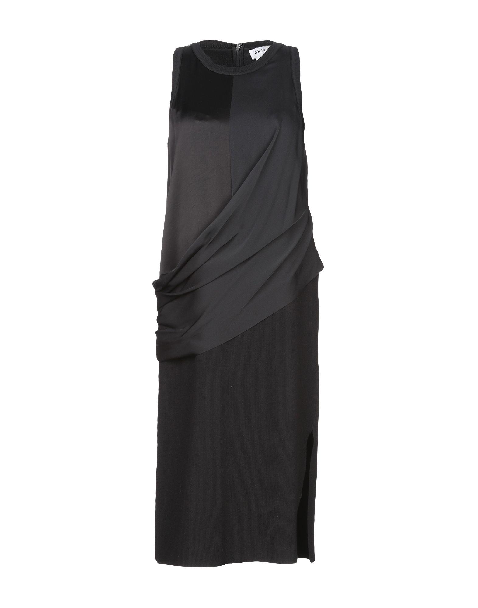 Фото - DKNY Платье до колена обувь на высокой платформе dkny