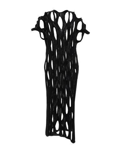 Фото - Женское длинное платье L.V..N. черного цвета