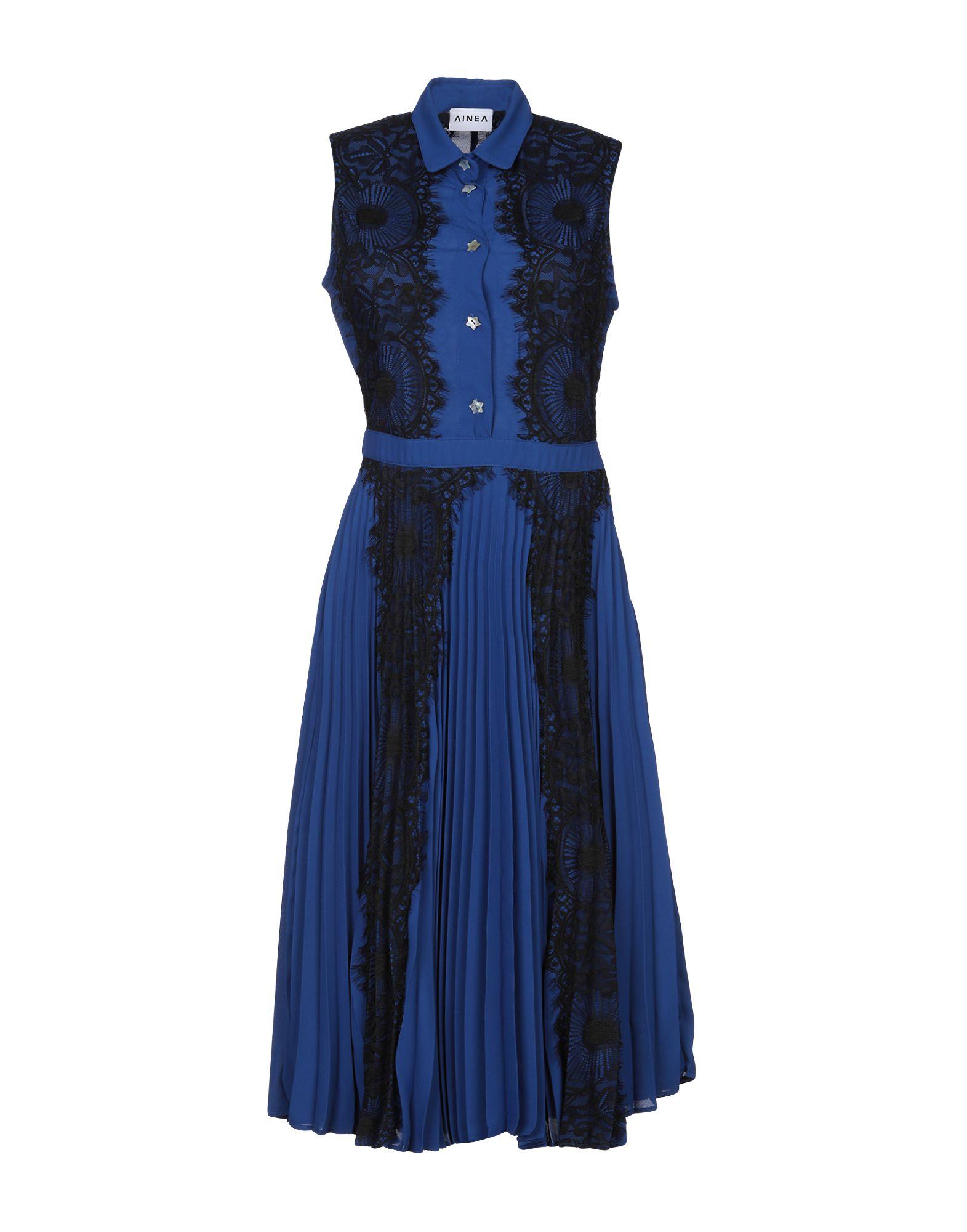 AINEA Платье длиной 3/4 ainea юбка длиной 3 4