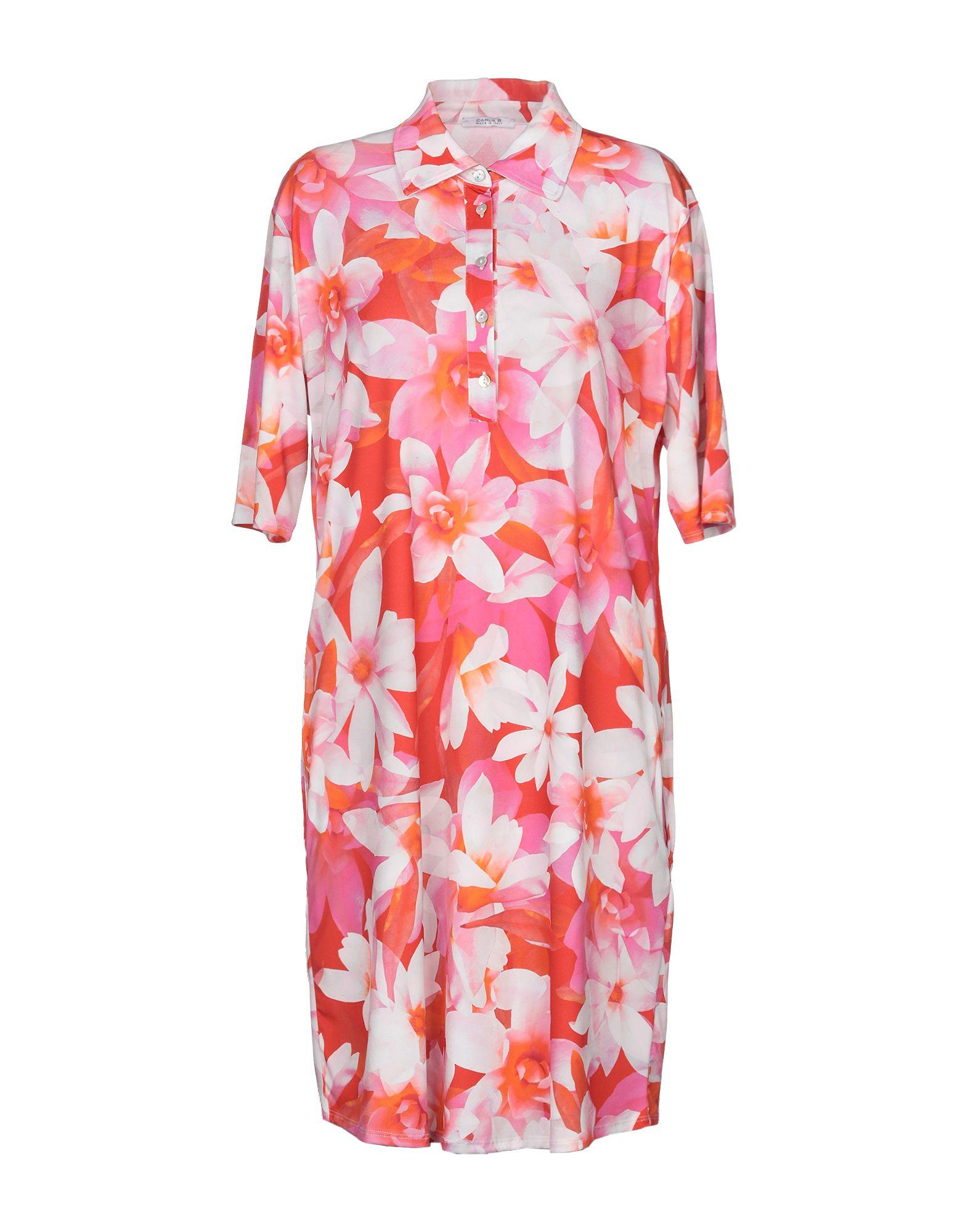 CARLA B. Короткое платье цены онлайн