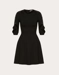 Stretch Viscose and Heavy Lace Dress