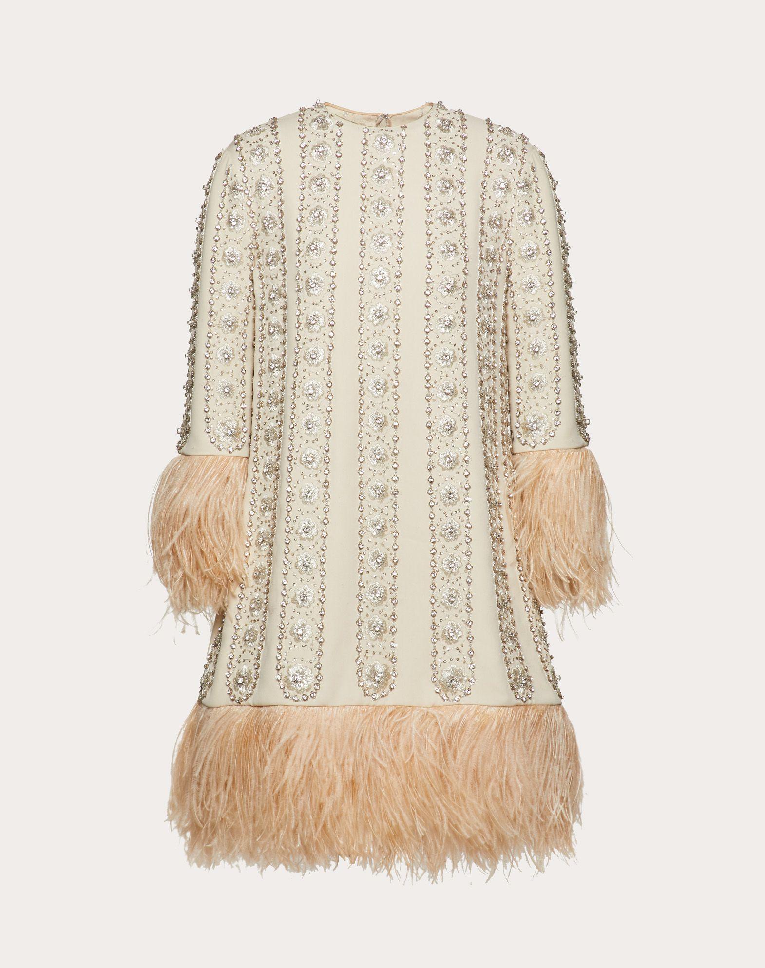 EMBELLISHED GEORGETTE DRESS