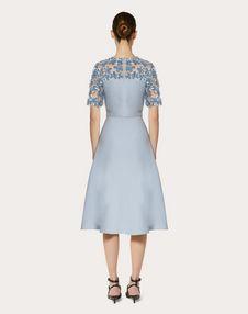 EMBELLISHED CREPE COUTURE DRESS