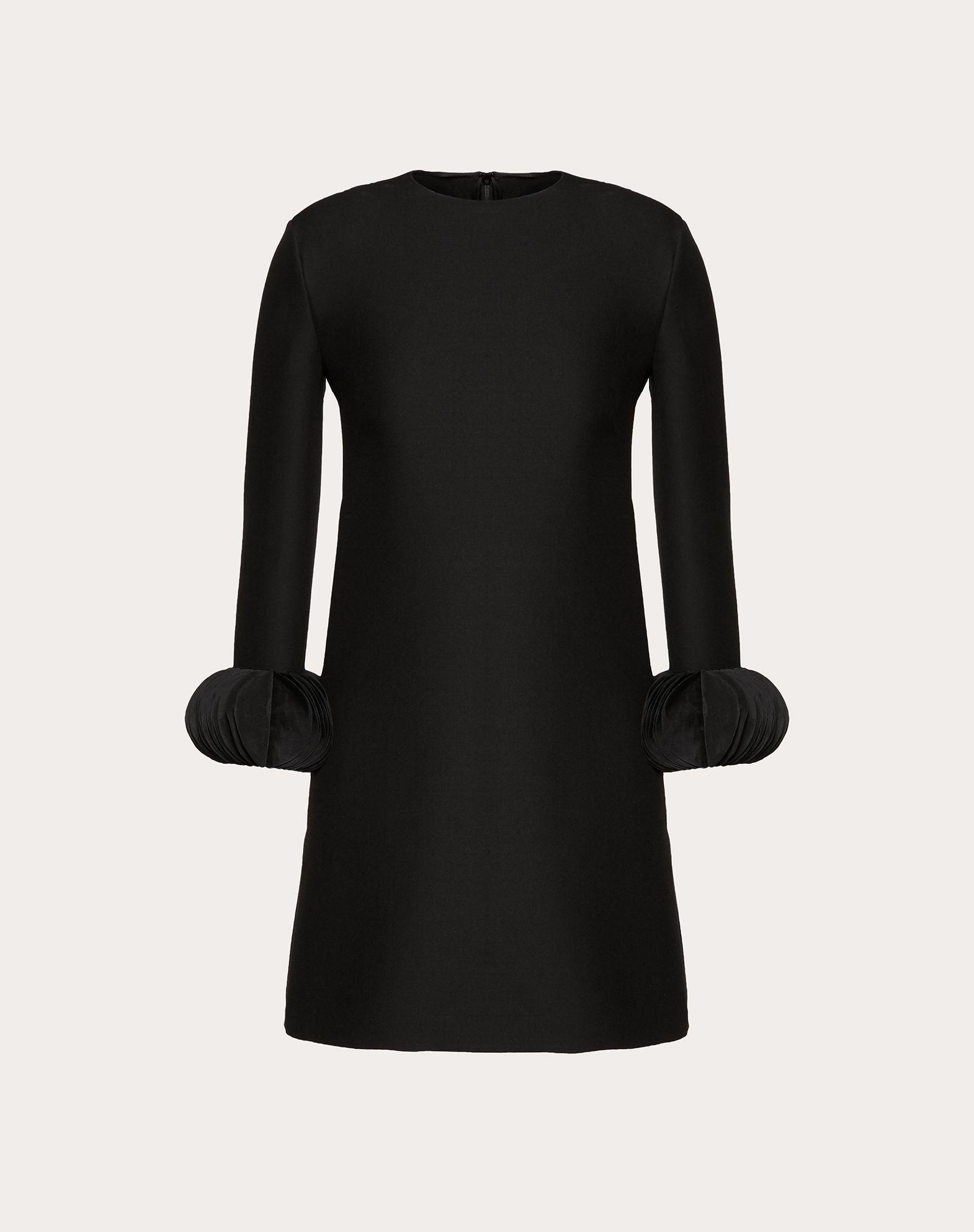 자수 장식 크레이프 쿠튀르 드레스