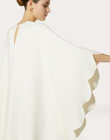Double-Faced Viscose Dress