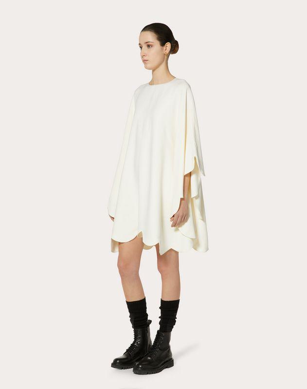 Платье из двухлицевой вискозы