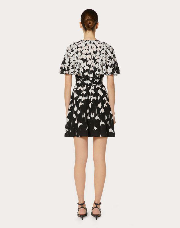 Crêpe de Chine Snowdrop Dress