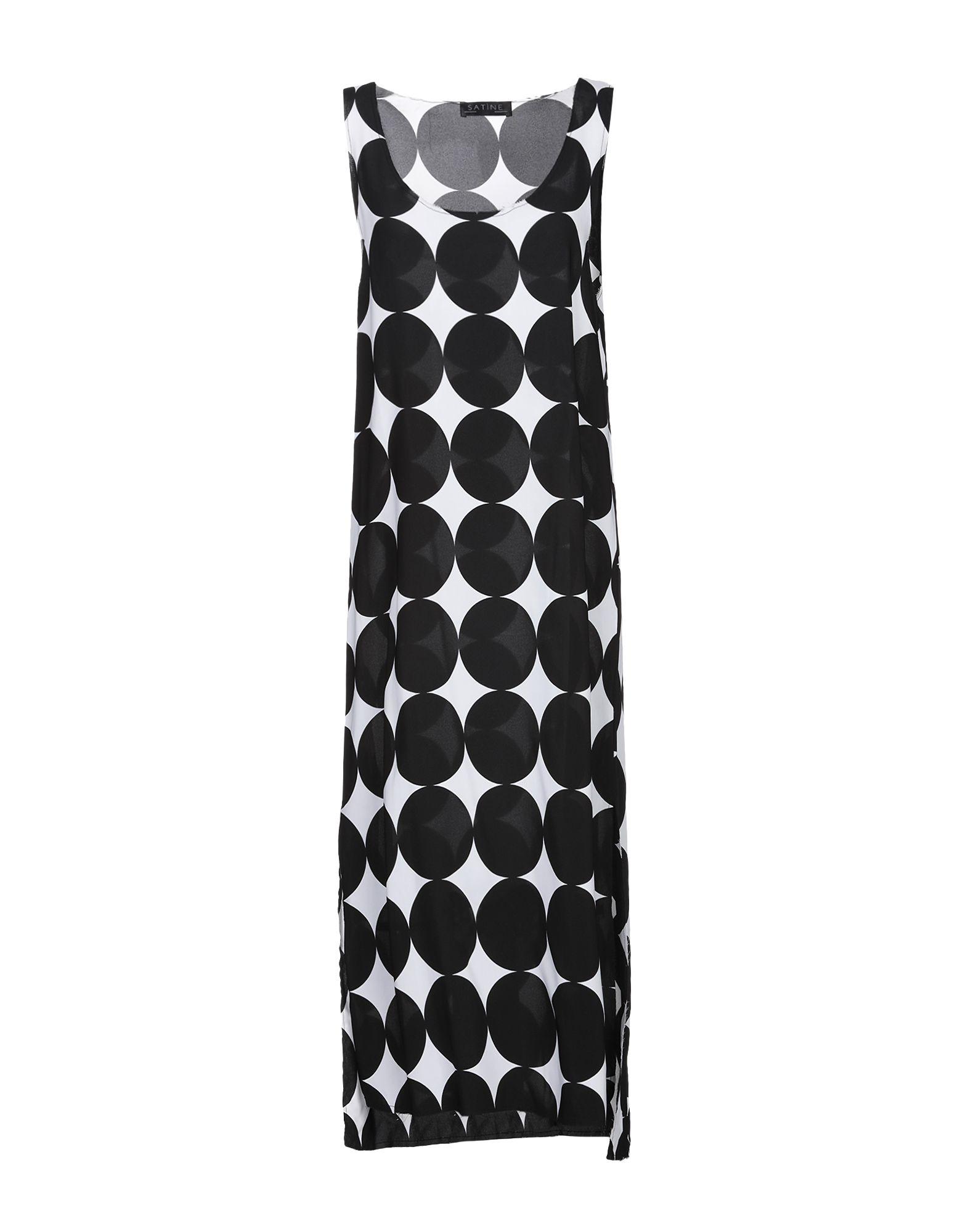 Фото - SATÌNE Платье длиной 3/4 платье комбинезон в горошек 1 мес 3 года