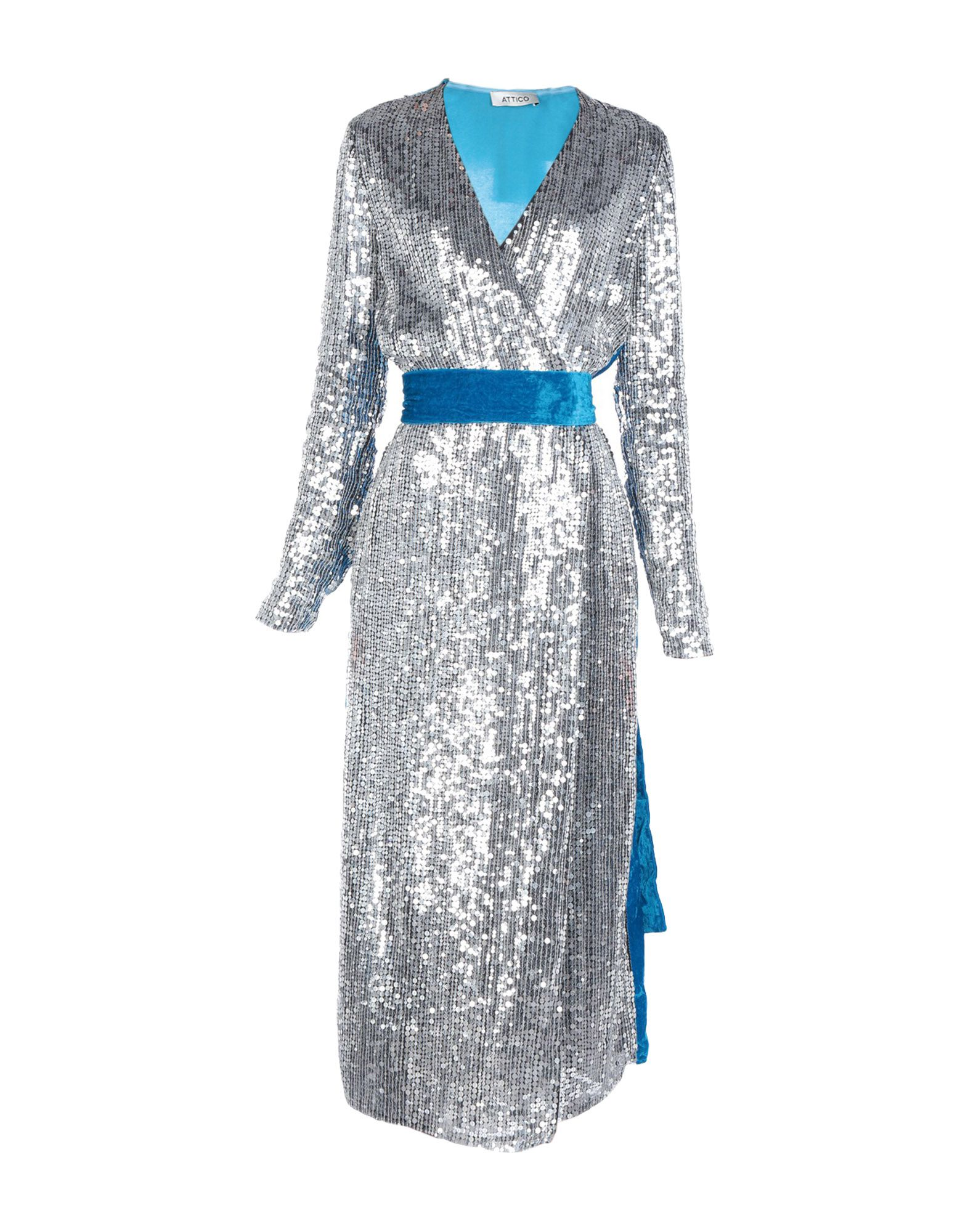 ATTICO Длинное платье attico короткое платье