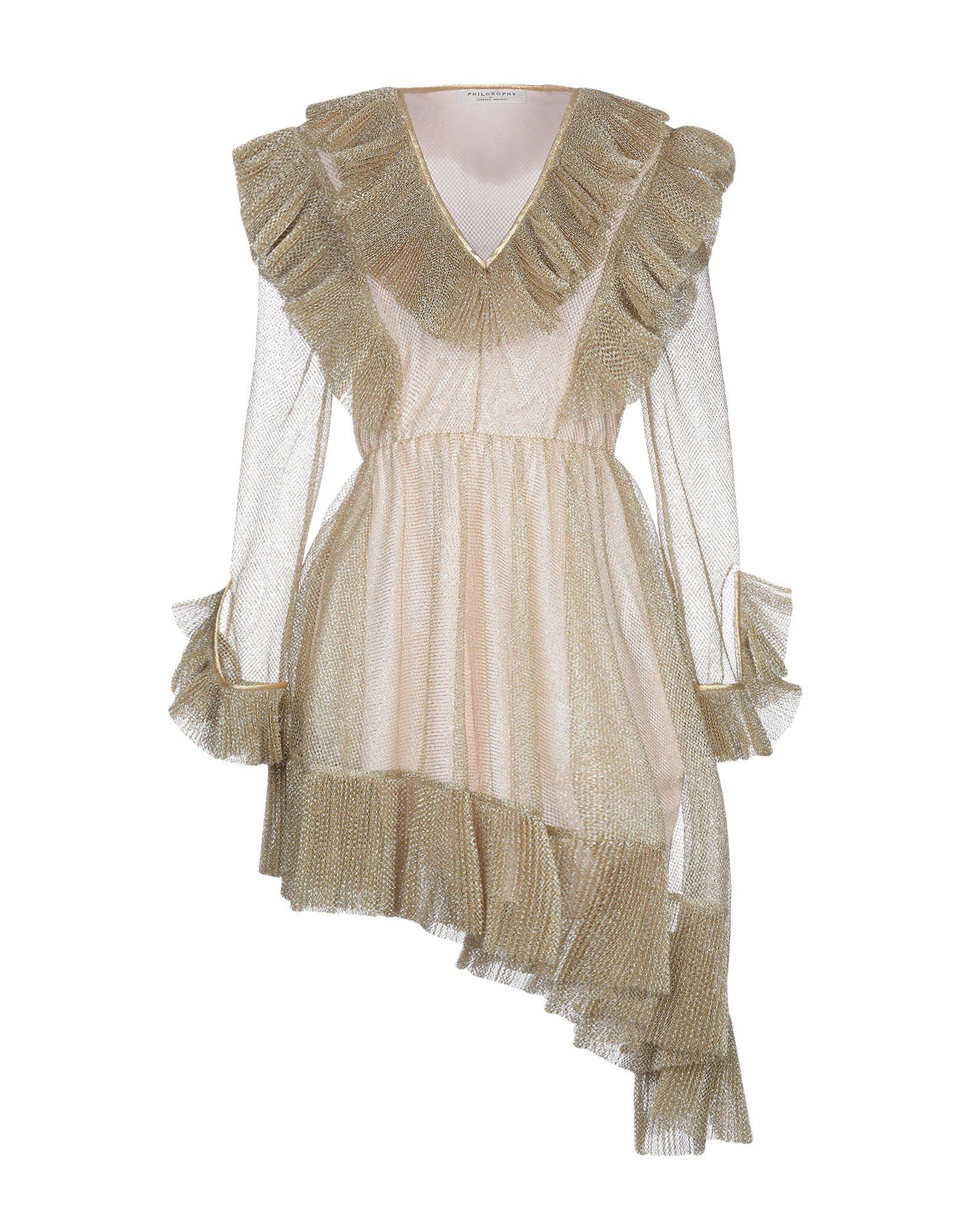 PHILOSOPHY di LORENZO SERAFINI Короткое платье fornarina короткое платье