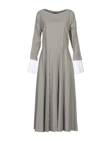 Купить Платье длиной 3/4 цвет зеленый-милитари
