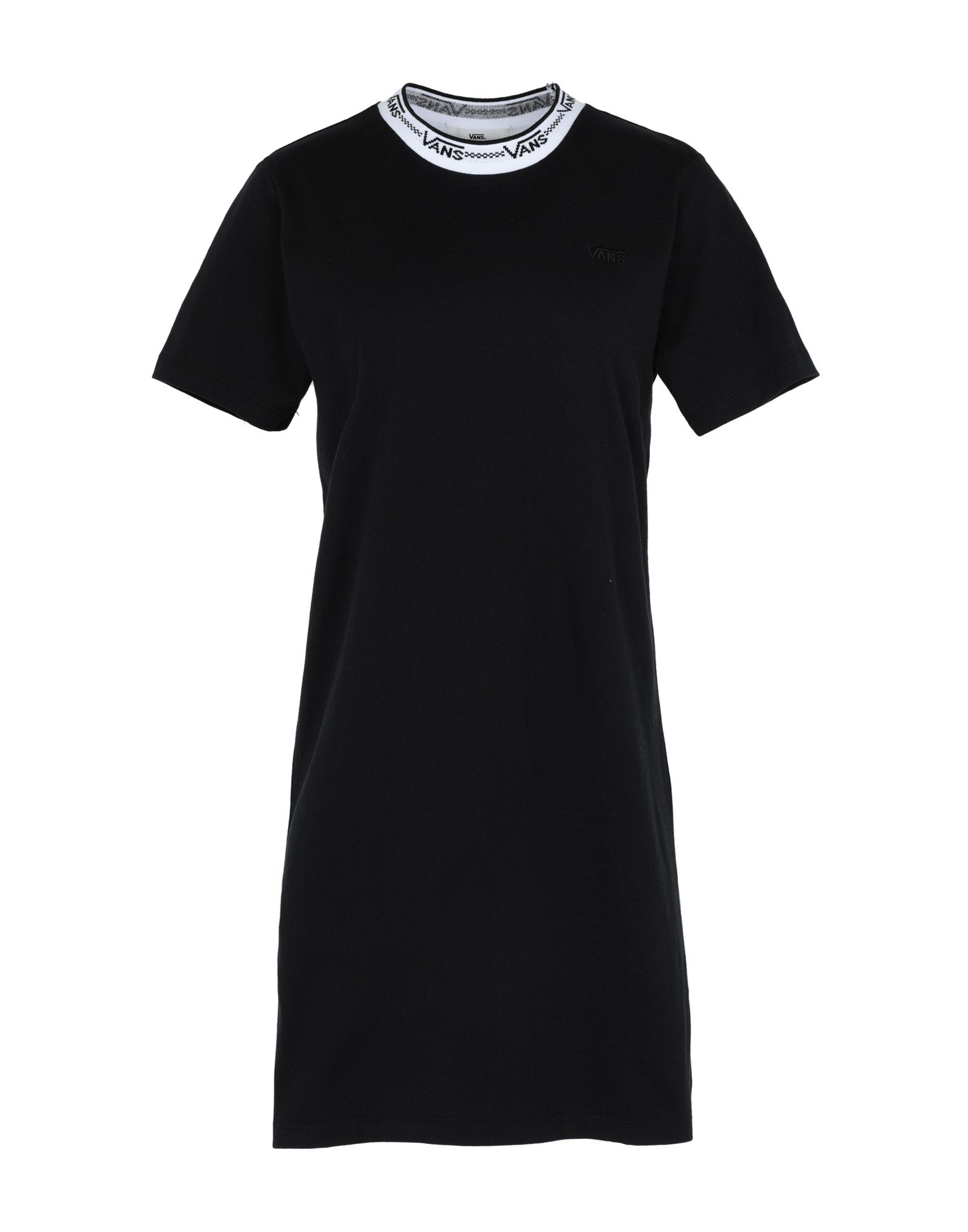 VANS Damen Kurzes Kleid Farbe Schwarz Größe 3