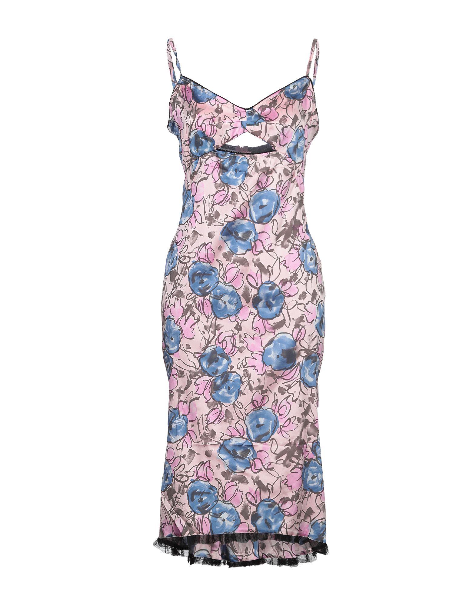 JOHN RICHMOND Платье до колена платье без рукавов с кружевной вставкой на спинке