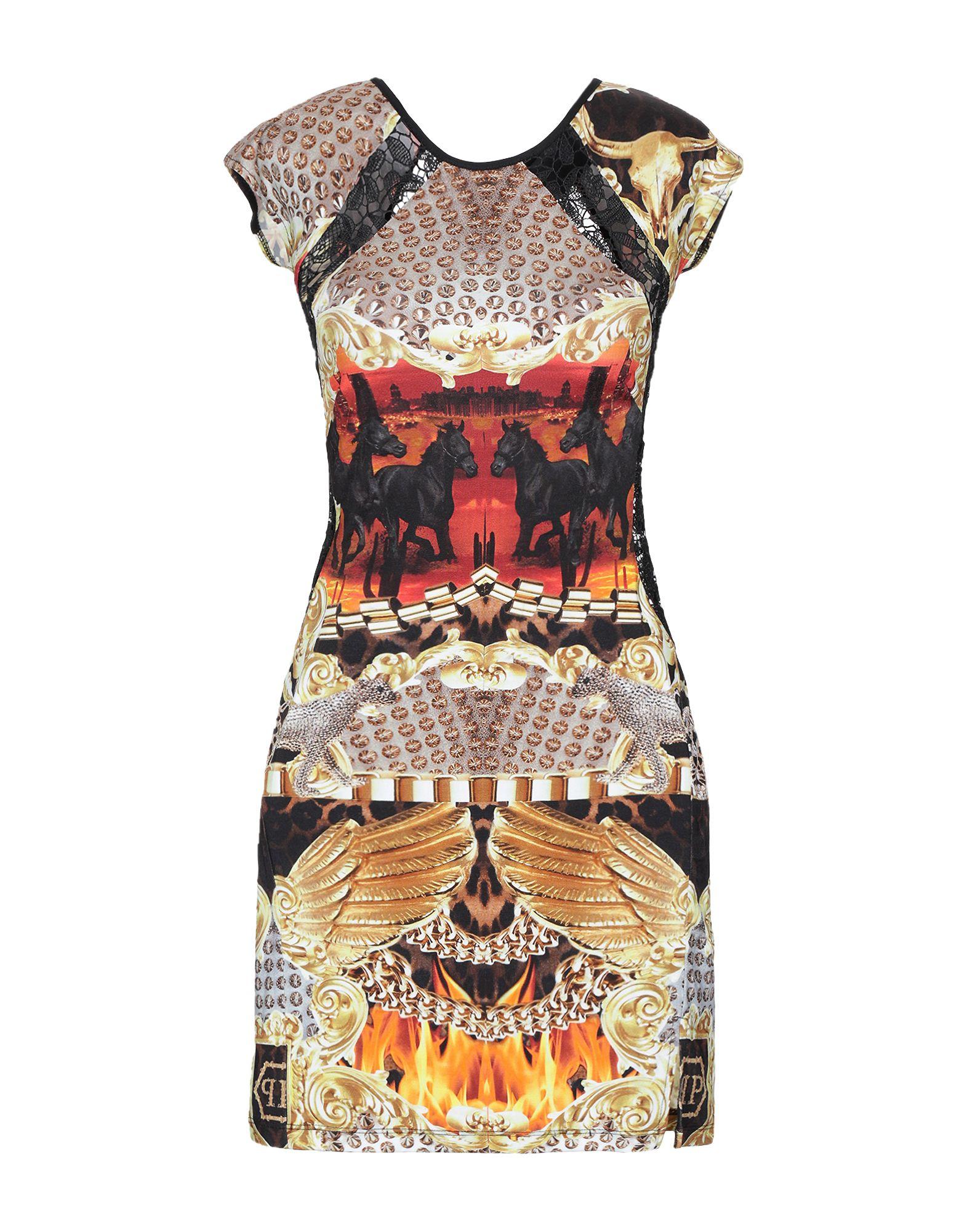 PHILIPP PLEIN Короткое платье платье philipp plein