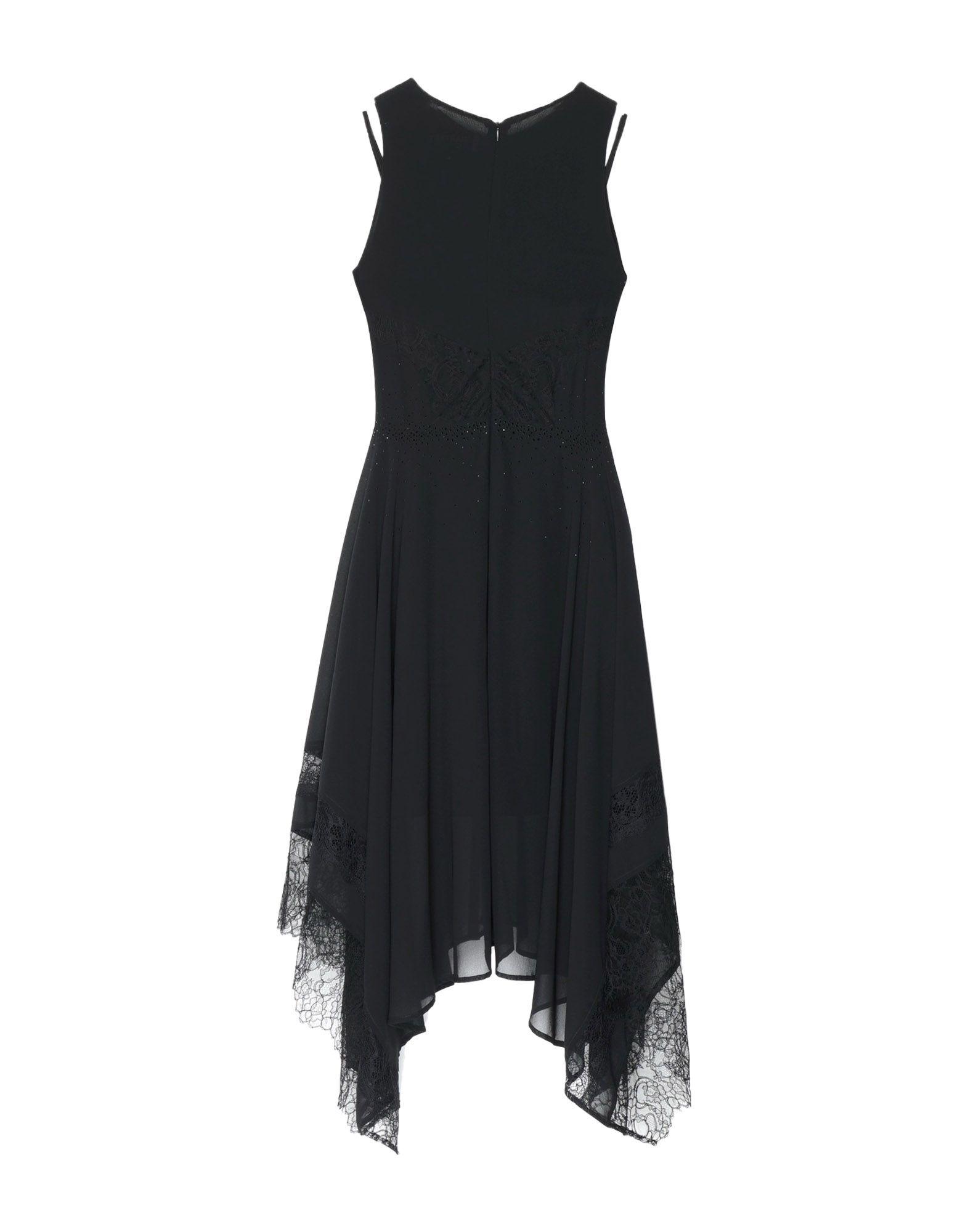 MARTA STUDIO Платье длиной 3/4 платье без рукавов с кружевной вставкой на спинке