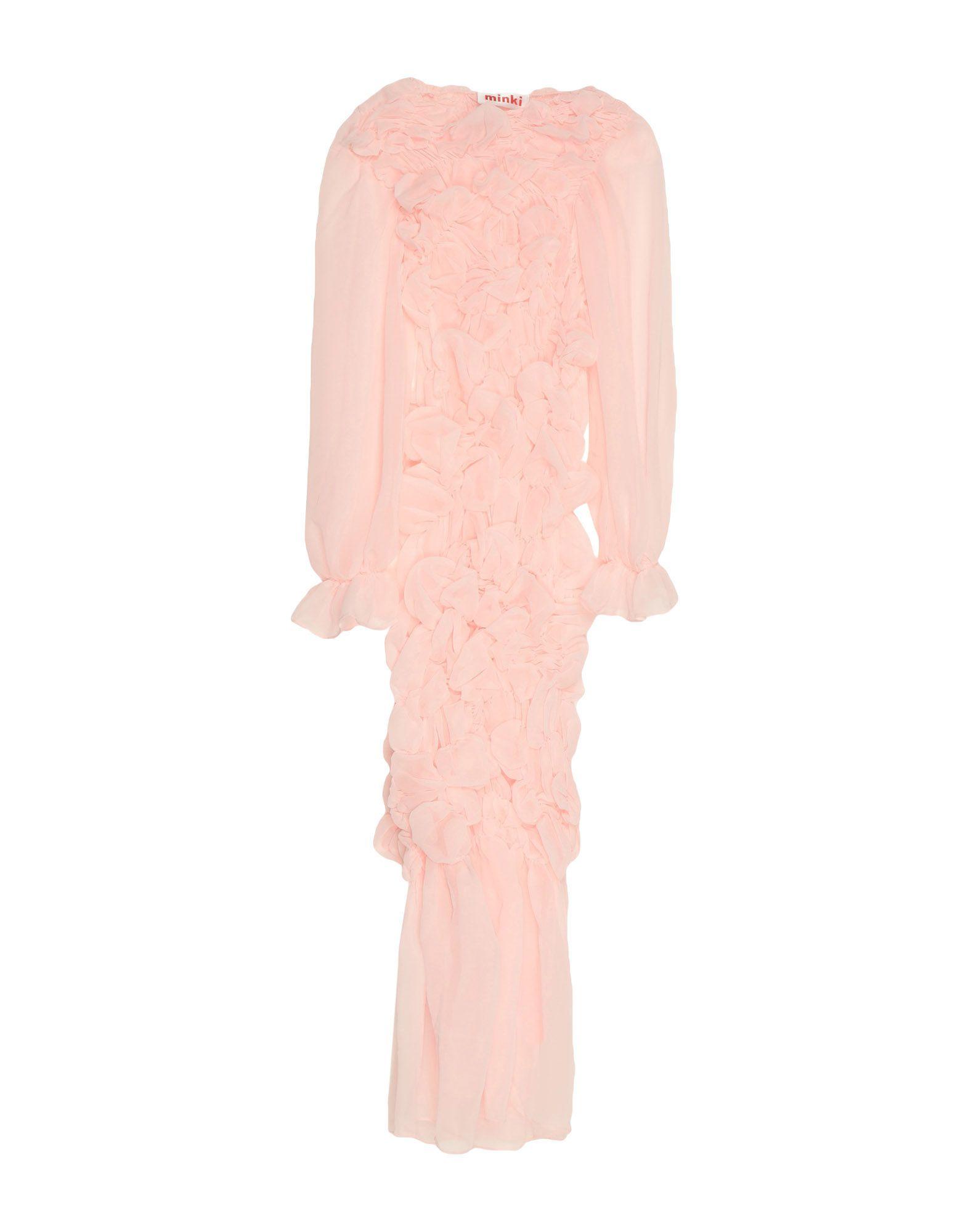 MINKI CHENG Длинное платье