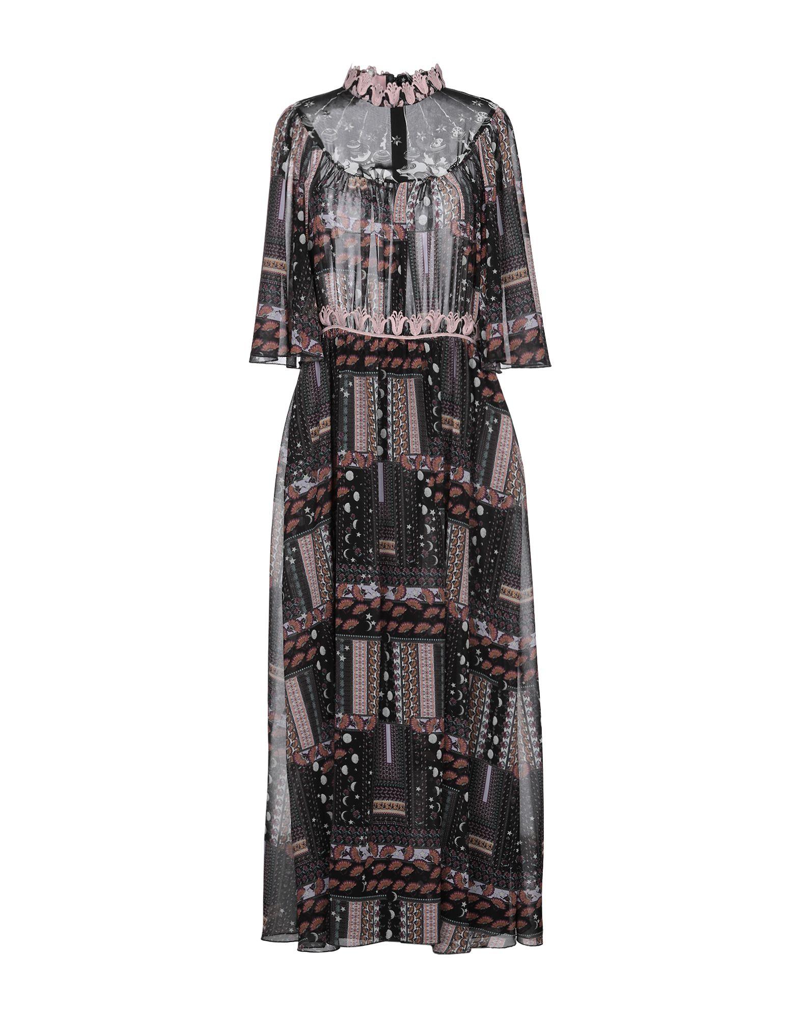 GIAMBA Длинное платье цена 2017