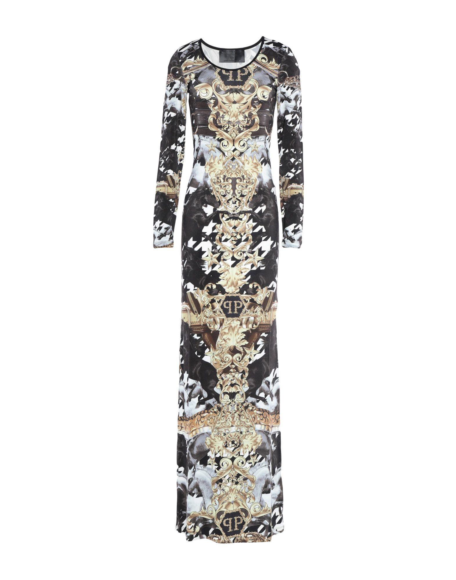 купить PHILIPP PLEIN Длинное платье по цене 26000 рублей