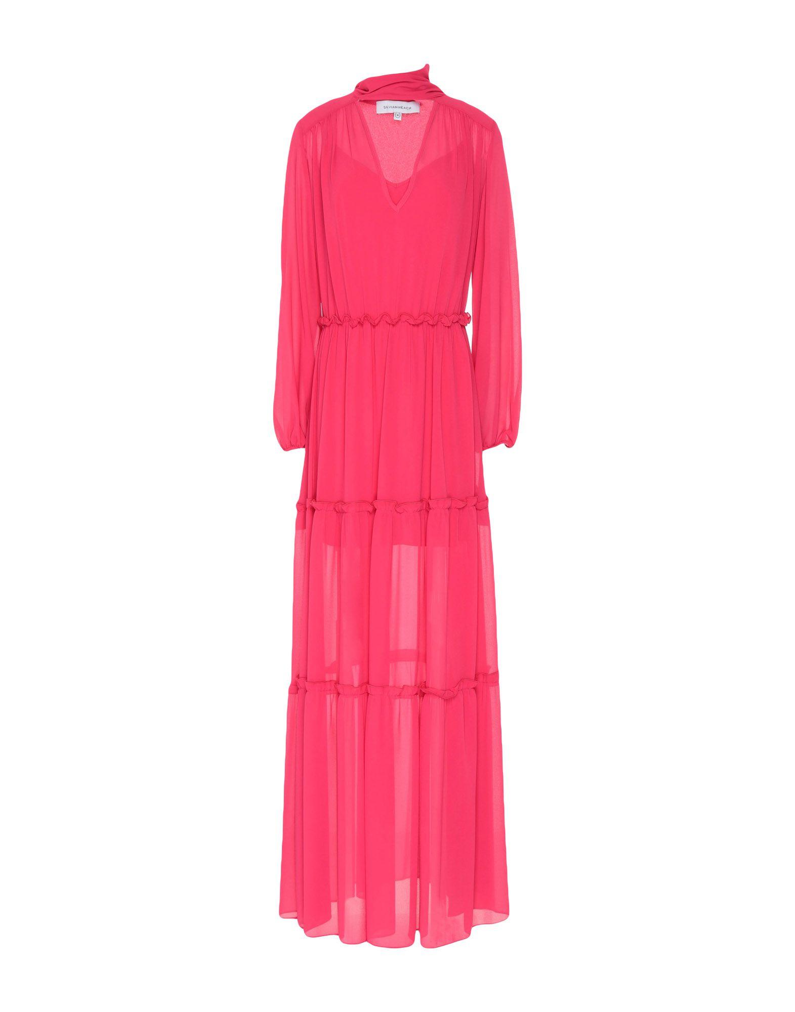 купить SILVIAN HEACH Длинное платье по цене 16000 рублей