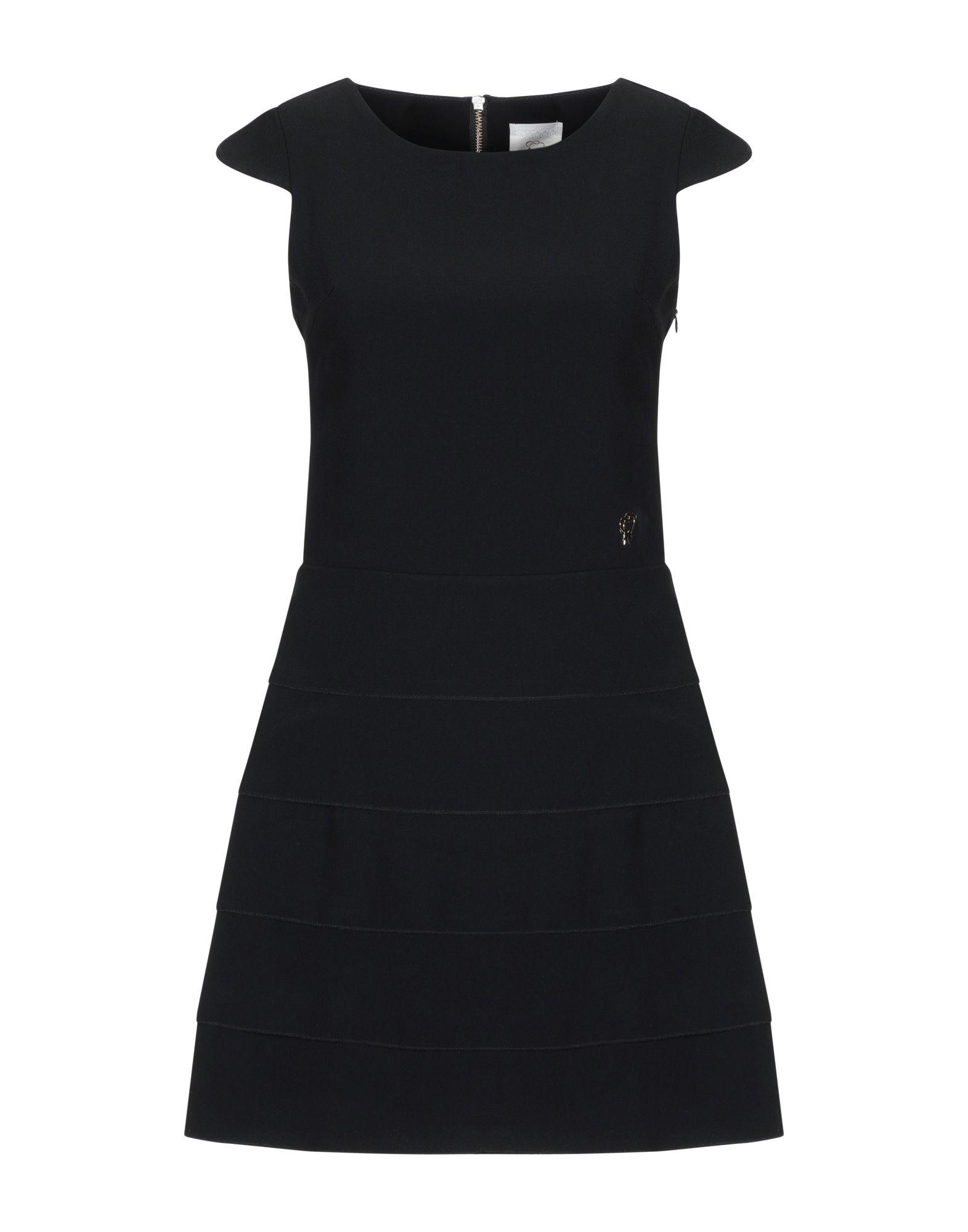 MAISON ESPIN Короткое платье maison espin юбка до колена