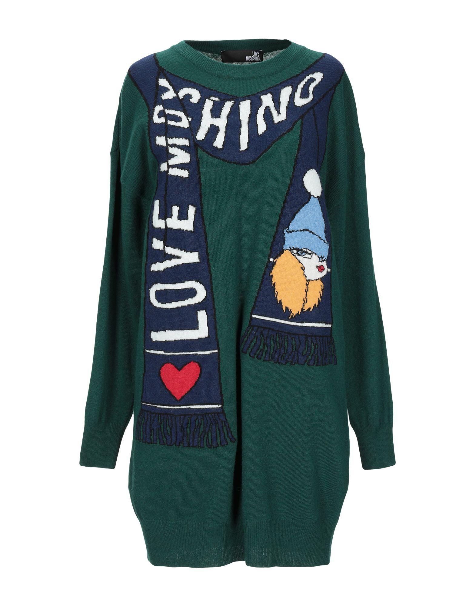 LOVE MOSCHINO Короткое платье moschino короткое платье