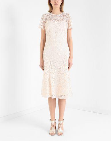 Фото 2 - Платье длиной 3/4 от LAUREN RALPH LAUREN цвет телесный