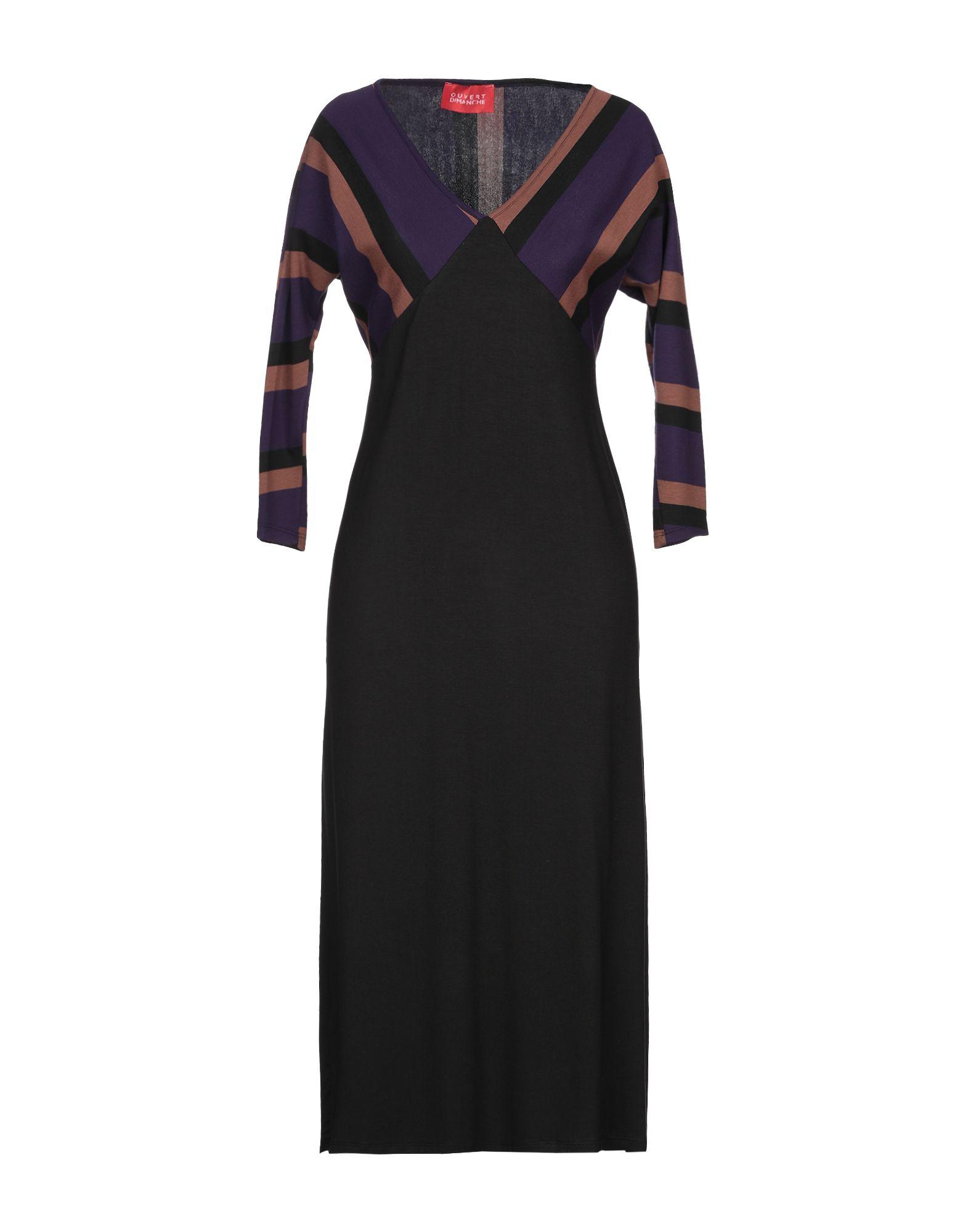 цена OUVERT DIMANCHE Платье до колена онлайн в 2017 году