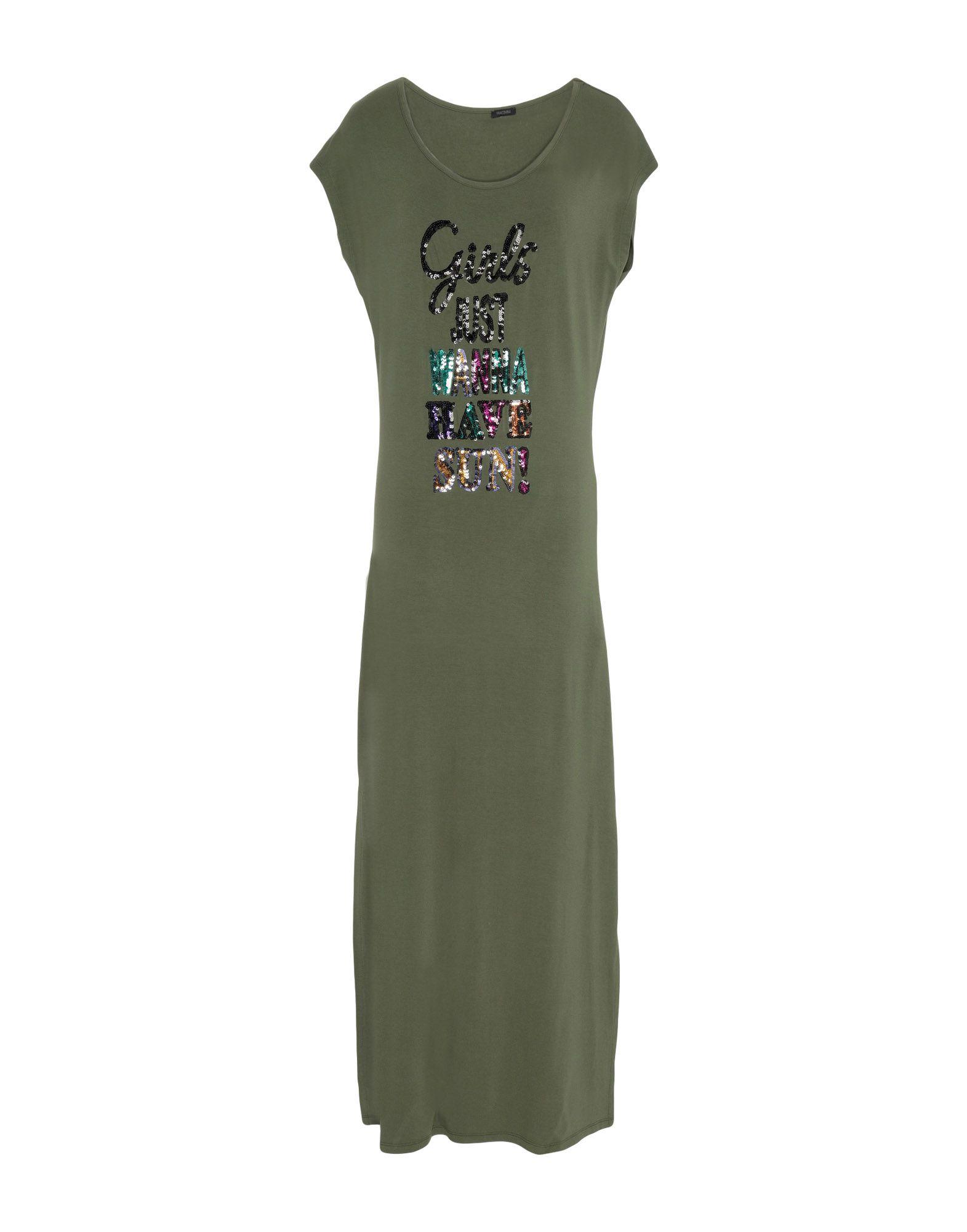 FRACOMINA Длинное платье карандаш логотип