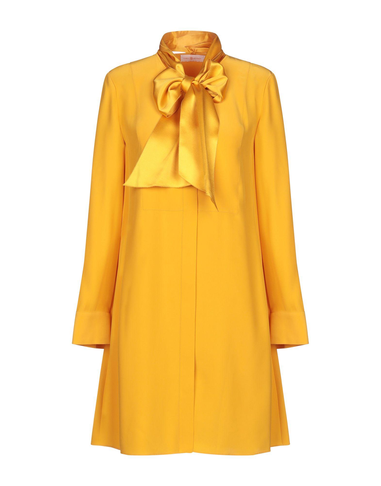 TORY BURCH Короткое платье платье рубашка fox yulia sway платье рубашка fox