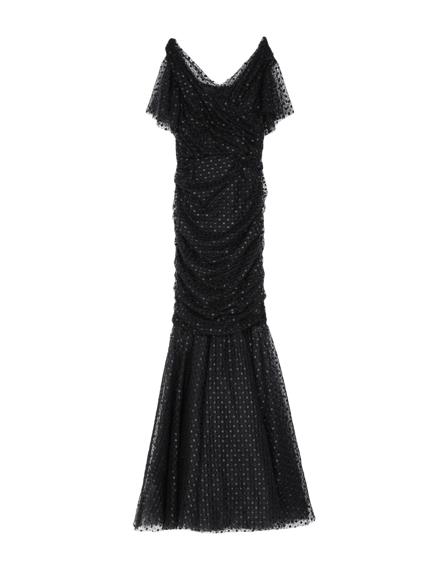 DOLCE & GABBANA Длинное платье женское платье dolce