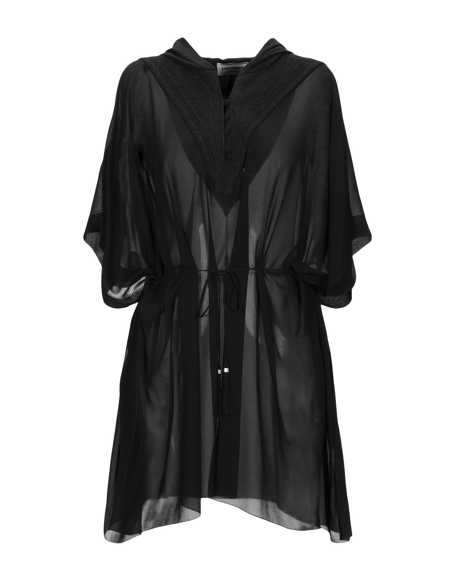 SAINT LAURENT Короткое платье saint laurent платье длиной 3 4
