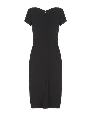 Фото 2 - Платье до колена от STEFANIA LUNARDON черного цвета