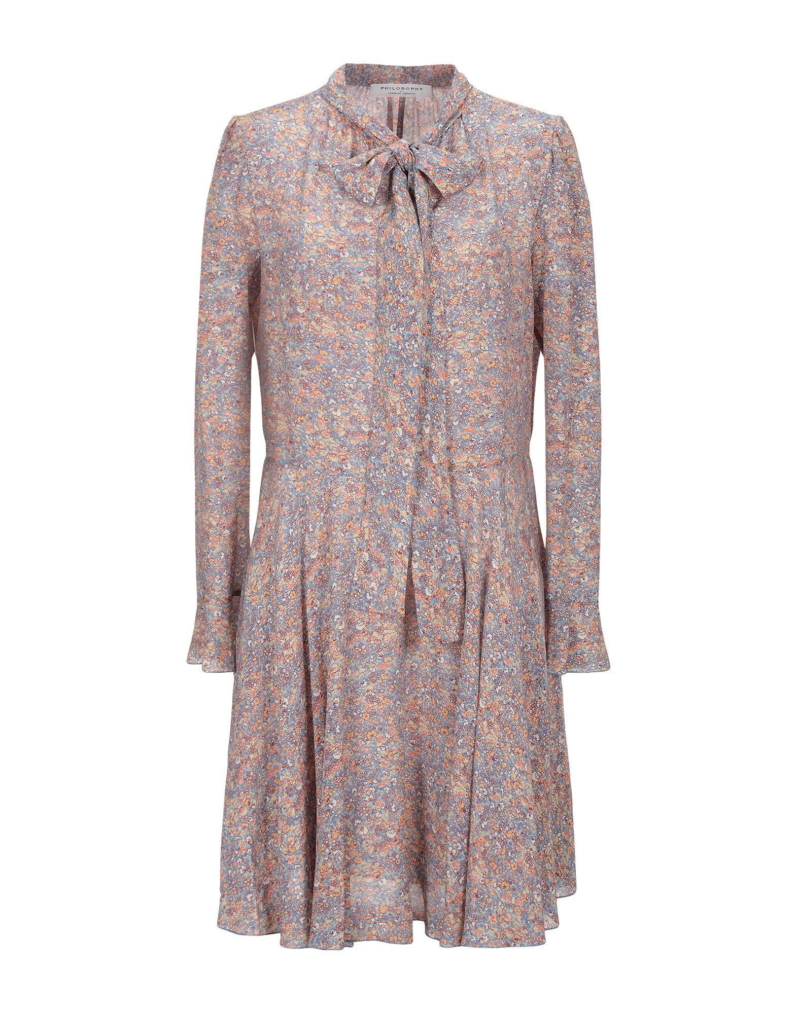 PHILOSOPHY di LORENZO SERAFINI Короткое платье все цены
