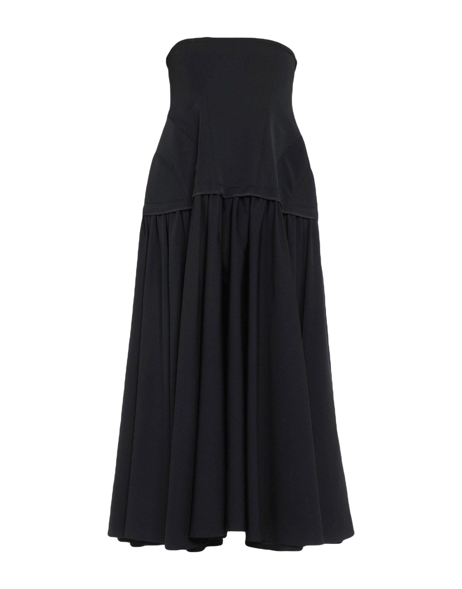 YOHJI YAMAMOTO Платье до колена цена 2017
