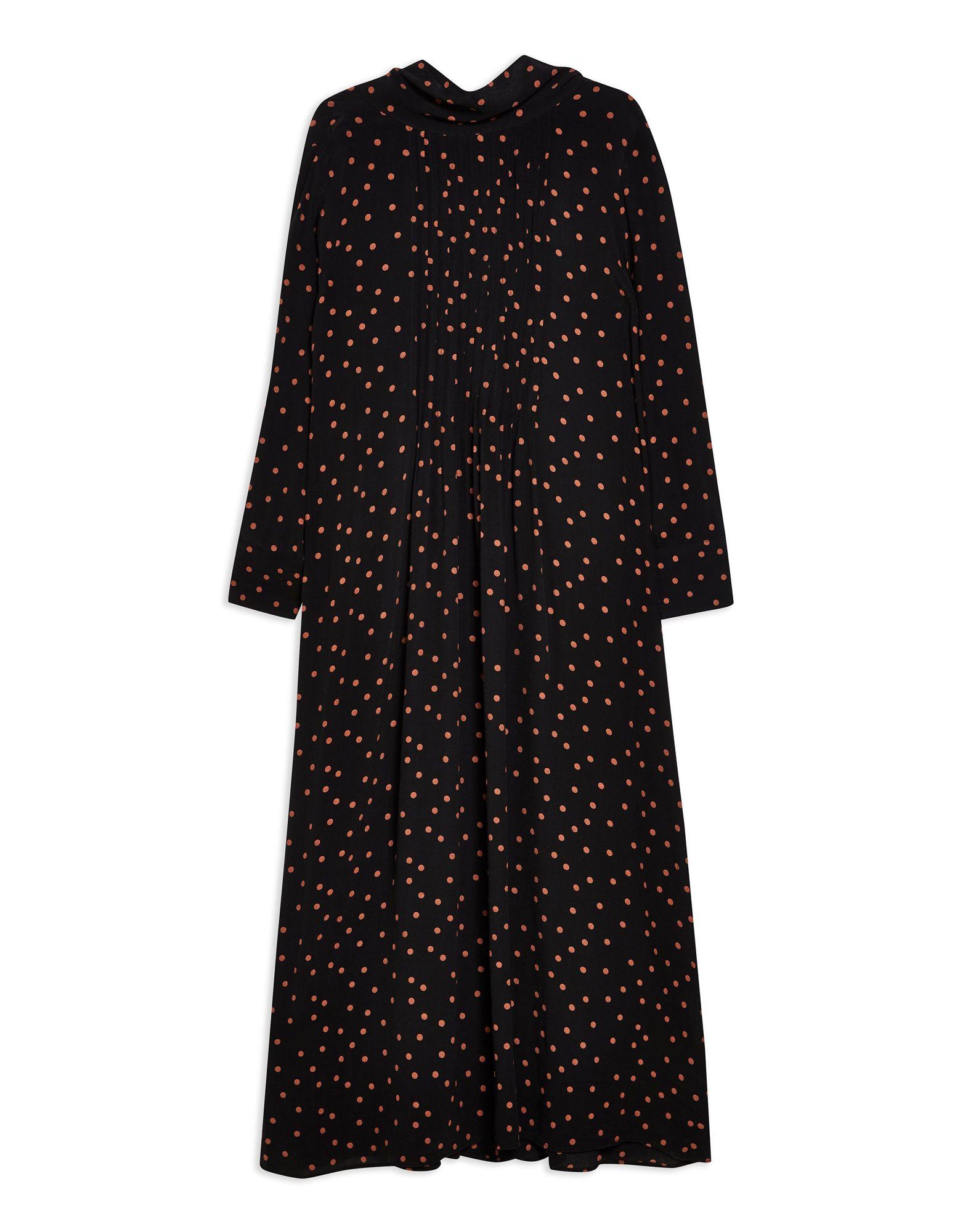 Фото - TOPSHOP Платье длиной 3/4 платье комбинезон в горошек 1 мес 3 года