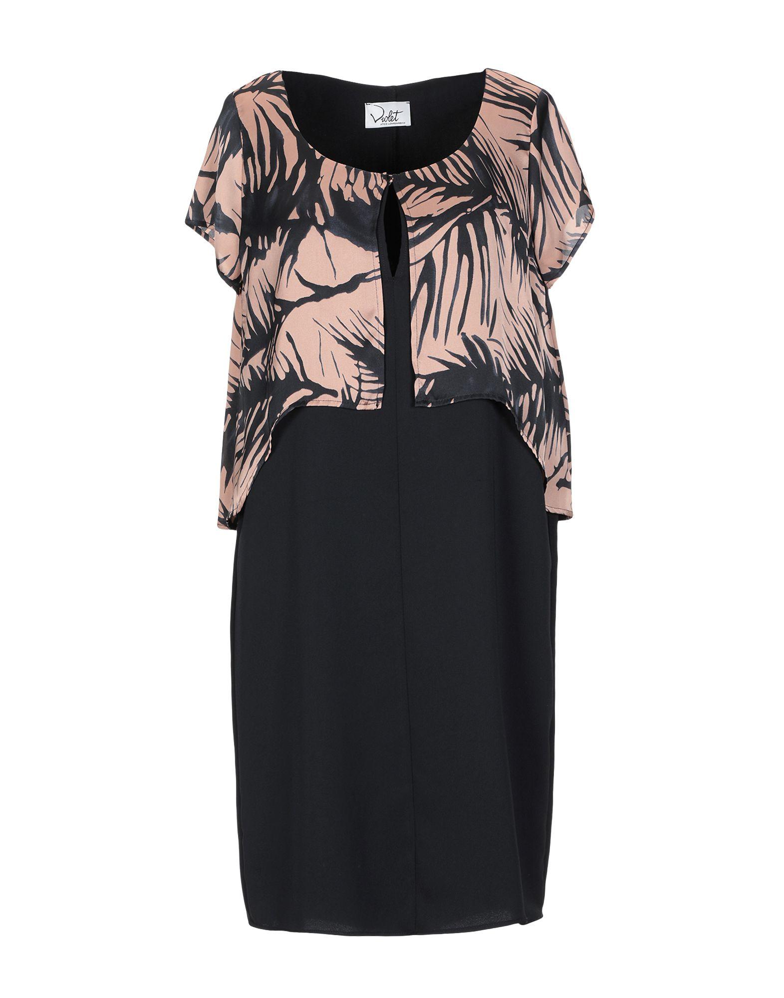 VIOLET ATOS LOMBARDINI Короткое платье violet atos lombardini длинное платье